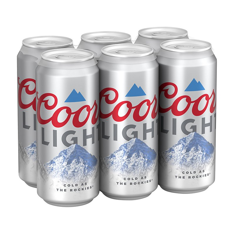 Coors Light Beer 16 oz Cans - Shop Beer at H-E-B