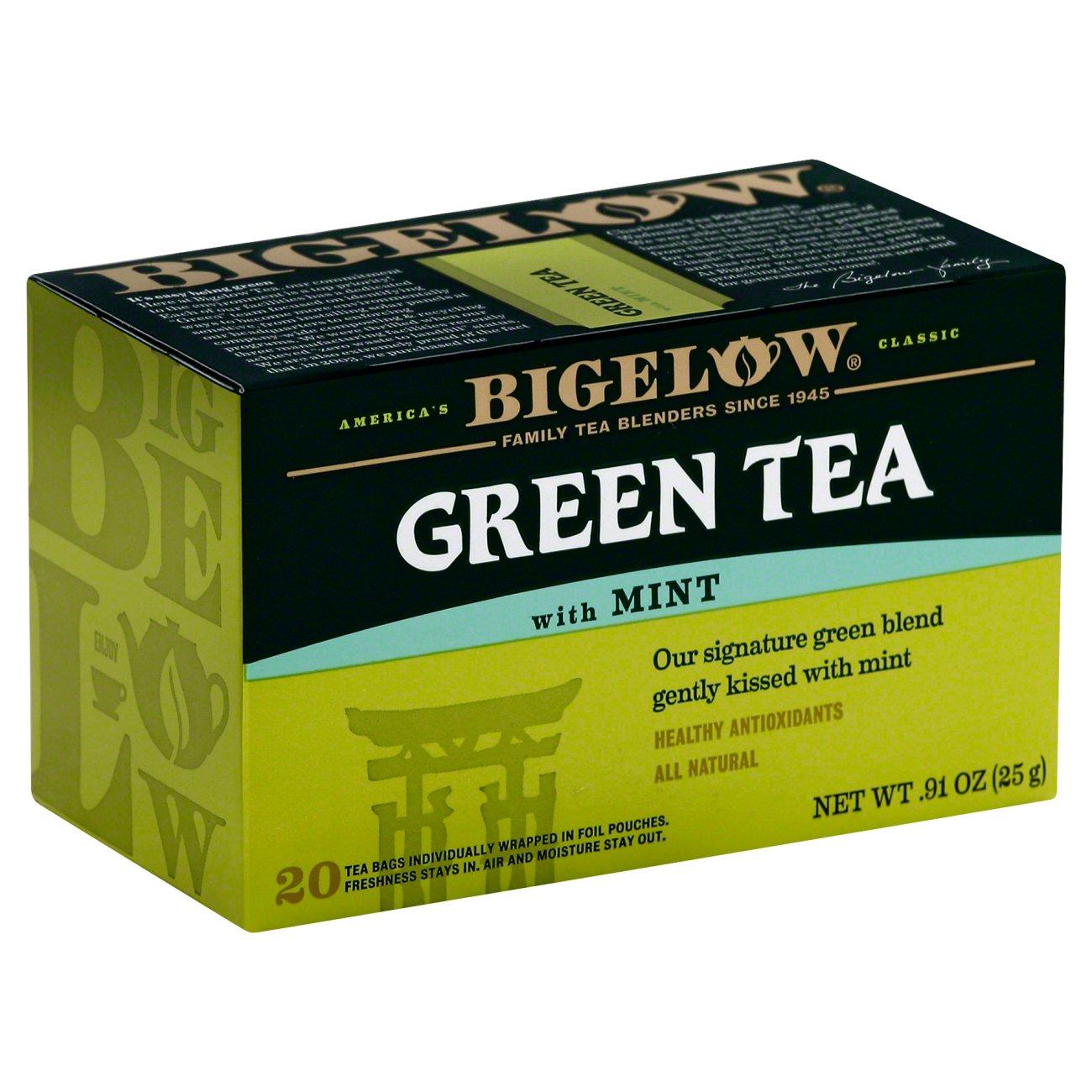 Bigelow Green Tea with Mint Tea Bags