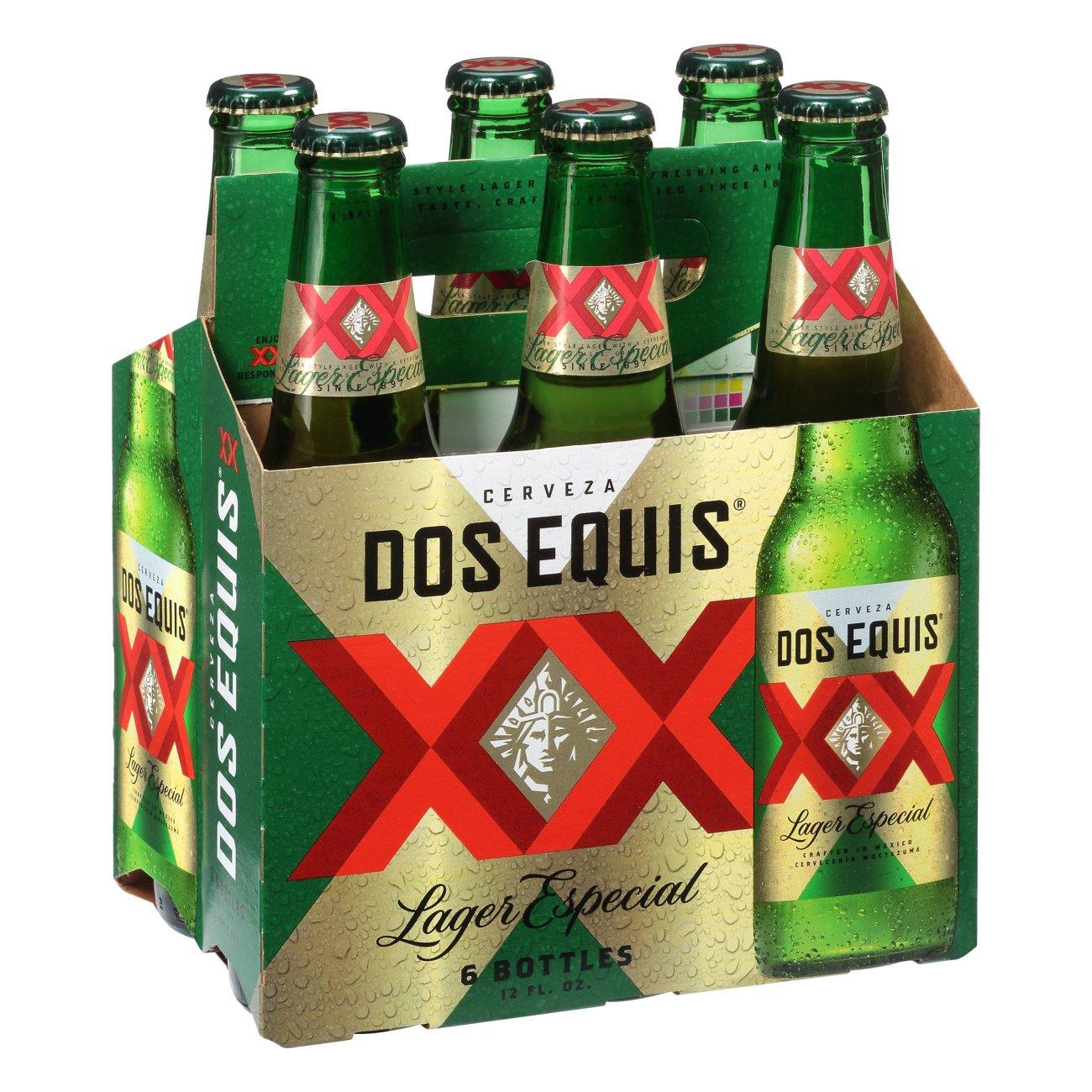 Dos Equis Lager Especial Beer 12 Oz Bottles Shop Beer At H E B