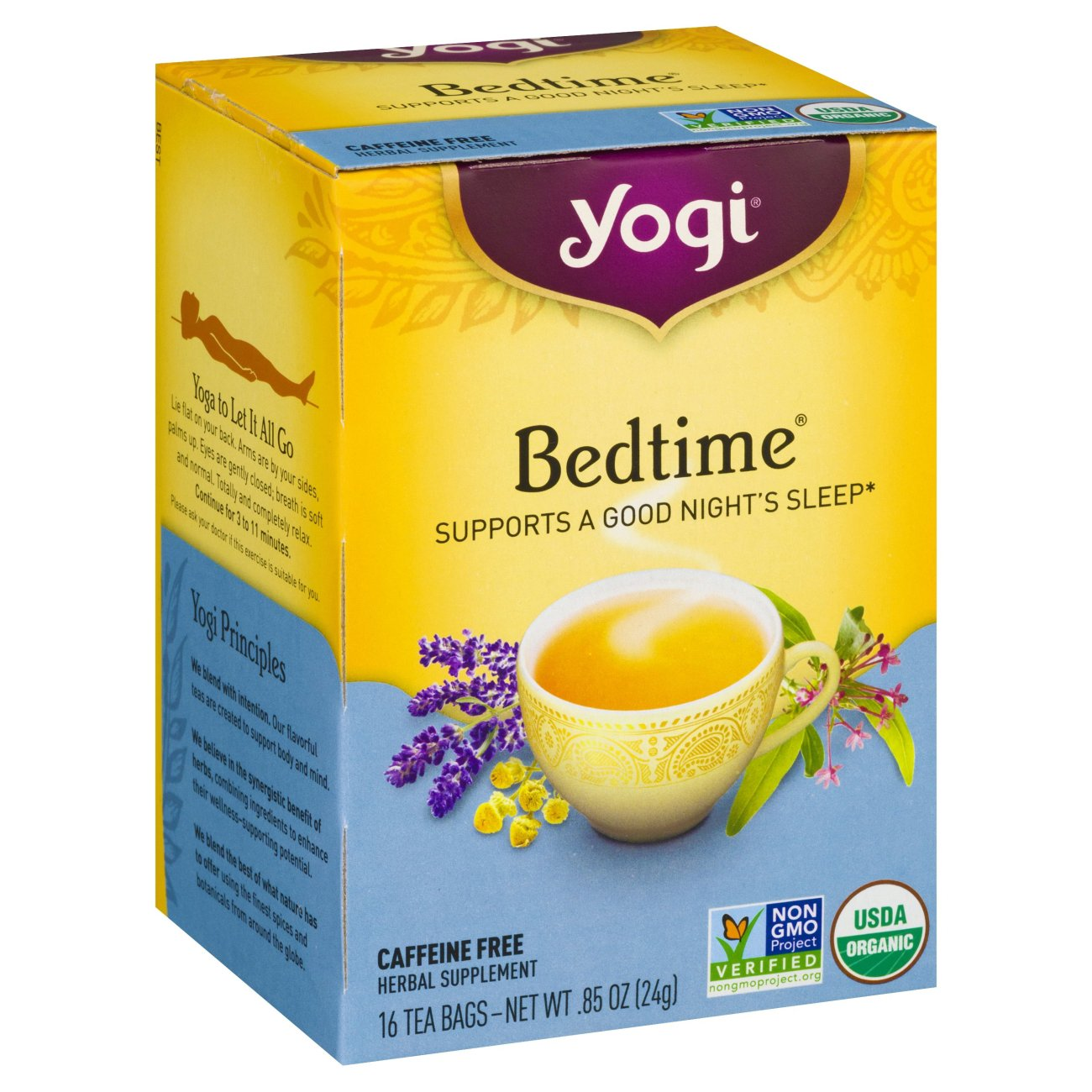 Yogi Bedtime Herbal Tea Bags - Shop Tea