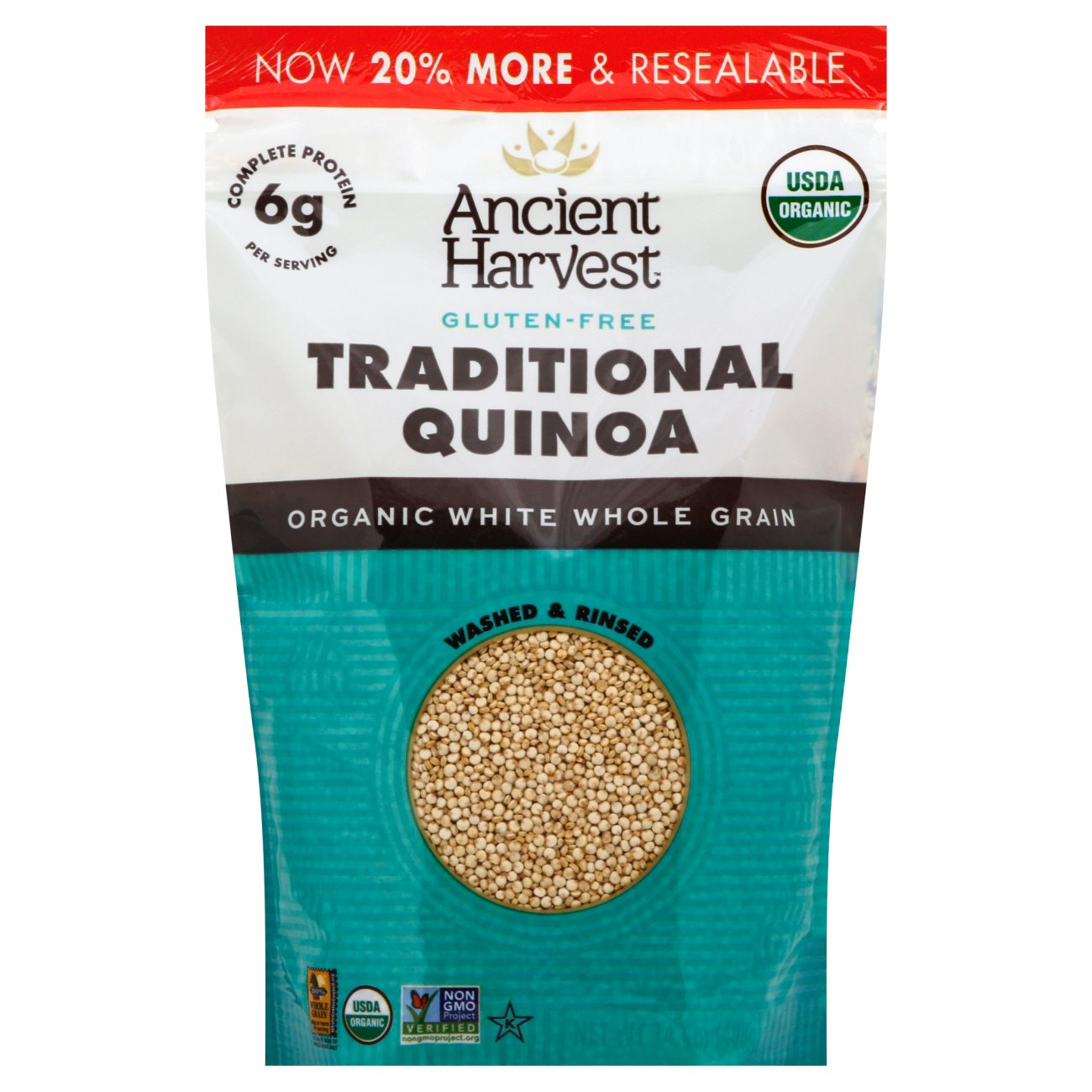 Ancient Harvestanic Gluten Free Quinoa €� Shop Rice And Grains At Heb