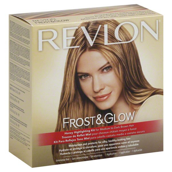 Revlon Frost And Glow Honey Highlighting Kit For Medium To Dark