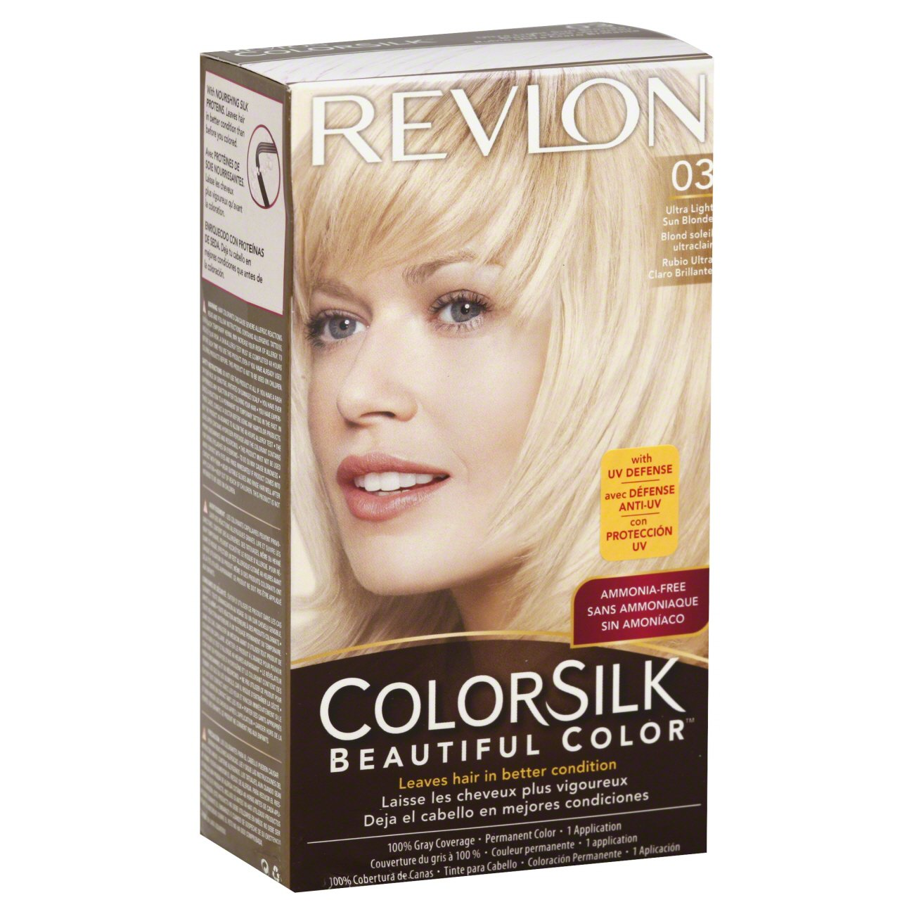Revlon Colorsilk Beautiful Color 03 Ultra Light Sun Blonde Shop