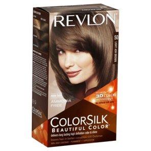 Revlon Colorsilk Beautiful Color 50 Light Ash Brown Hair At Heb