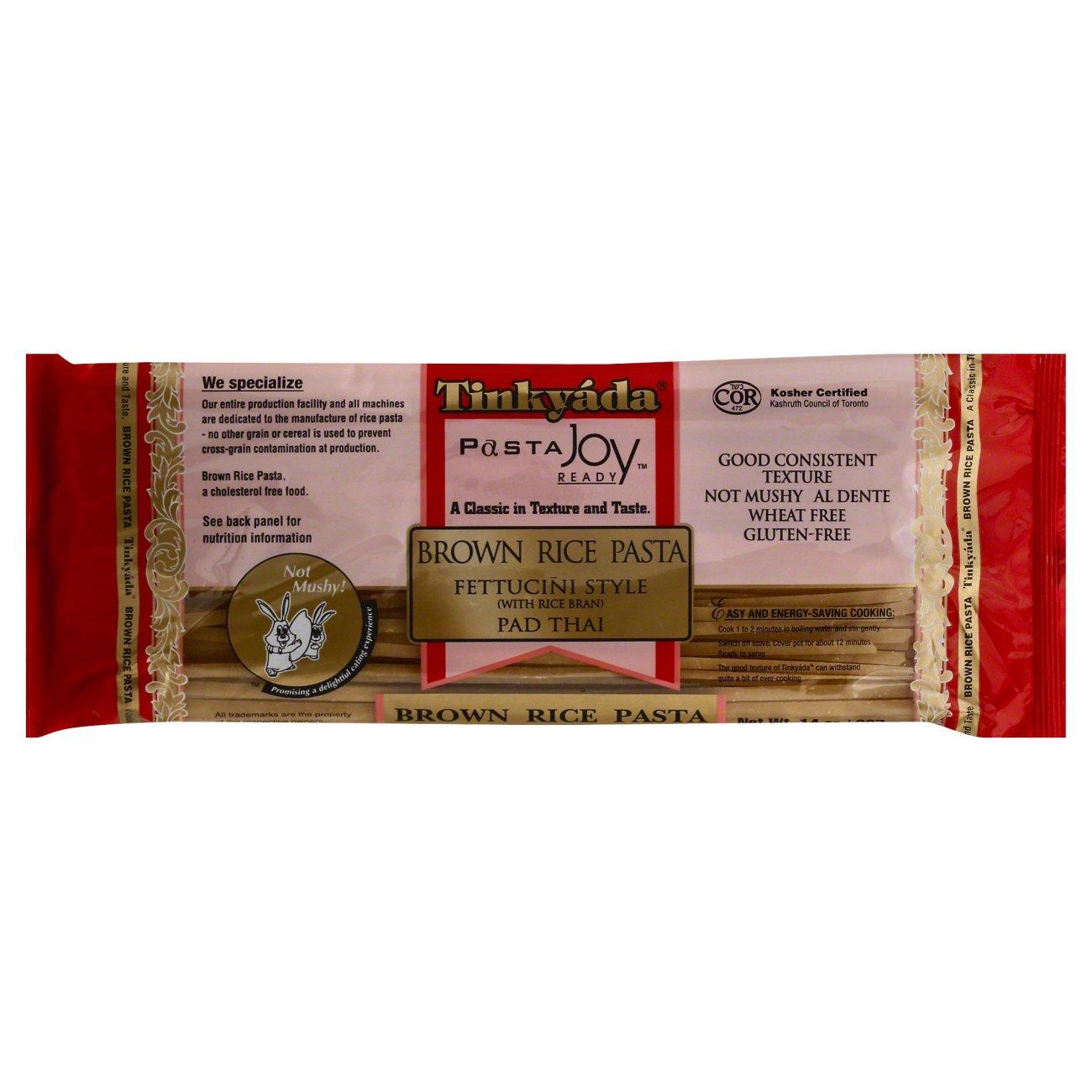 Tinkyada Fettuccini Style Pad Thai Brown Rice Pasta €� Shop Pasta At Heb