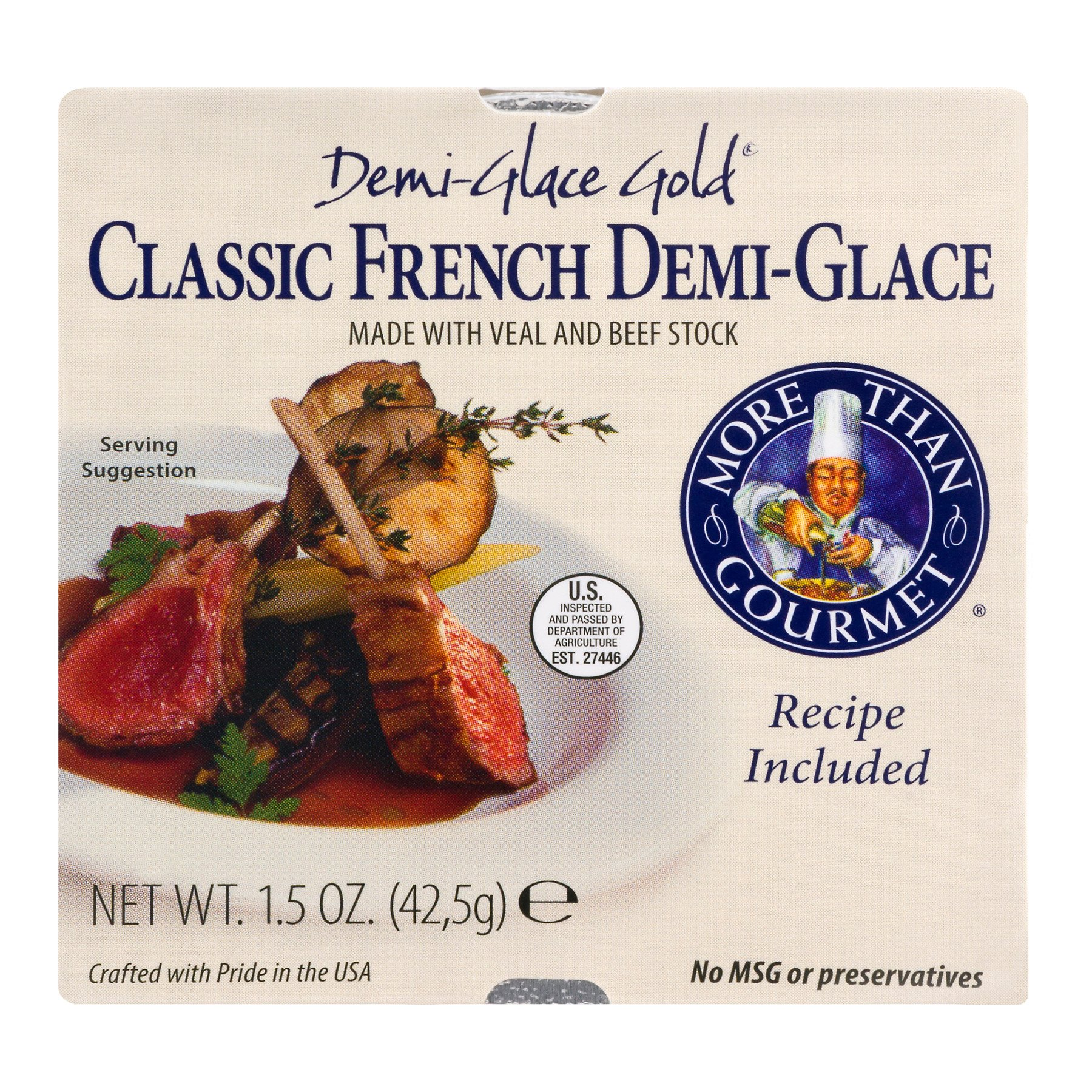 More Than Gourmet Classic Seafood Stock 1.5 Ounce