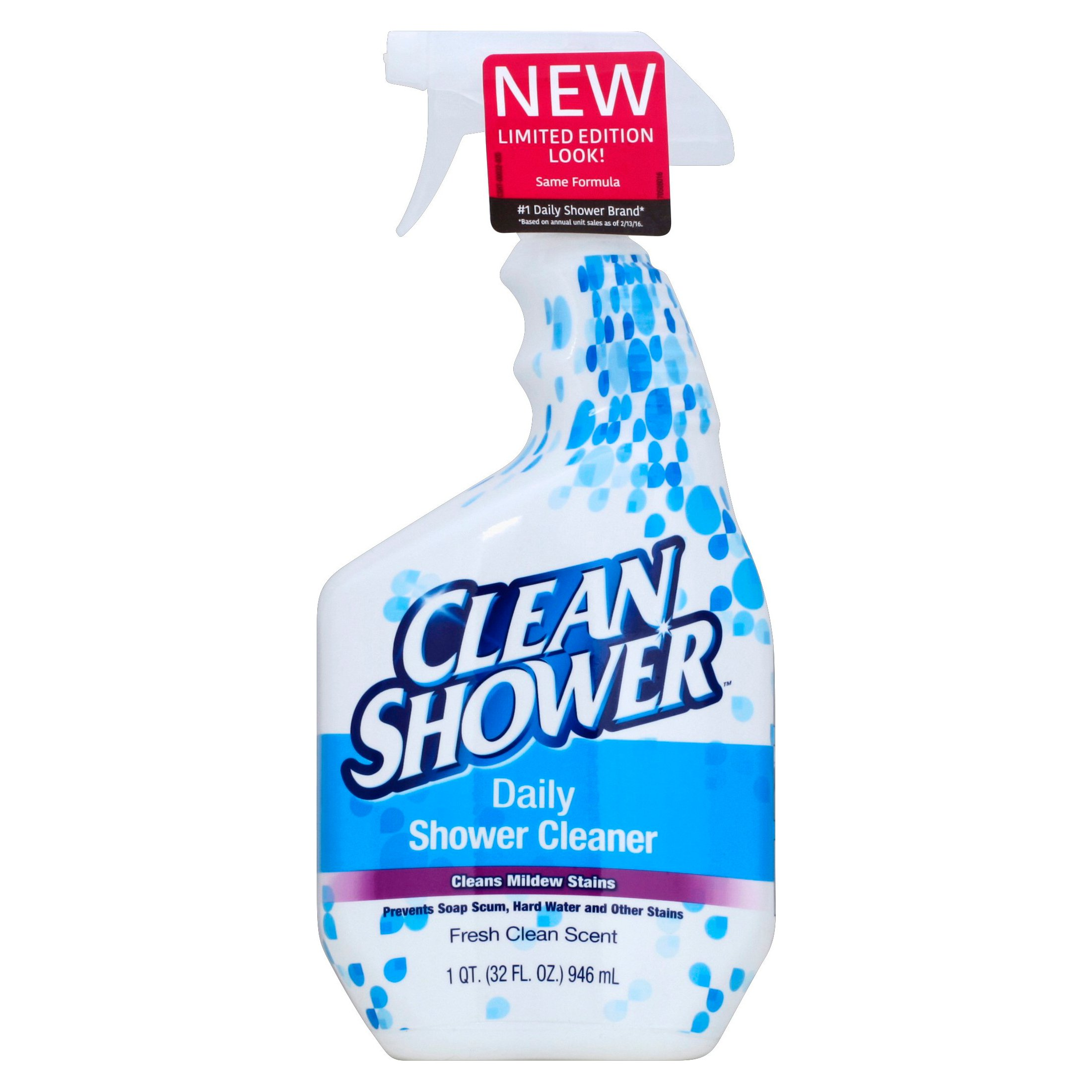 Clean Shower Daily Cleaner Spray All Purpose