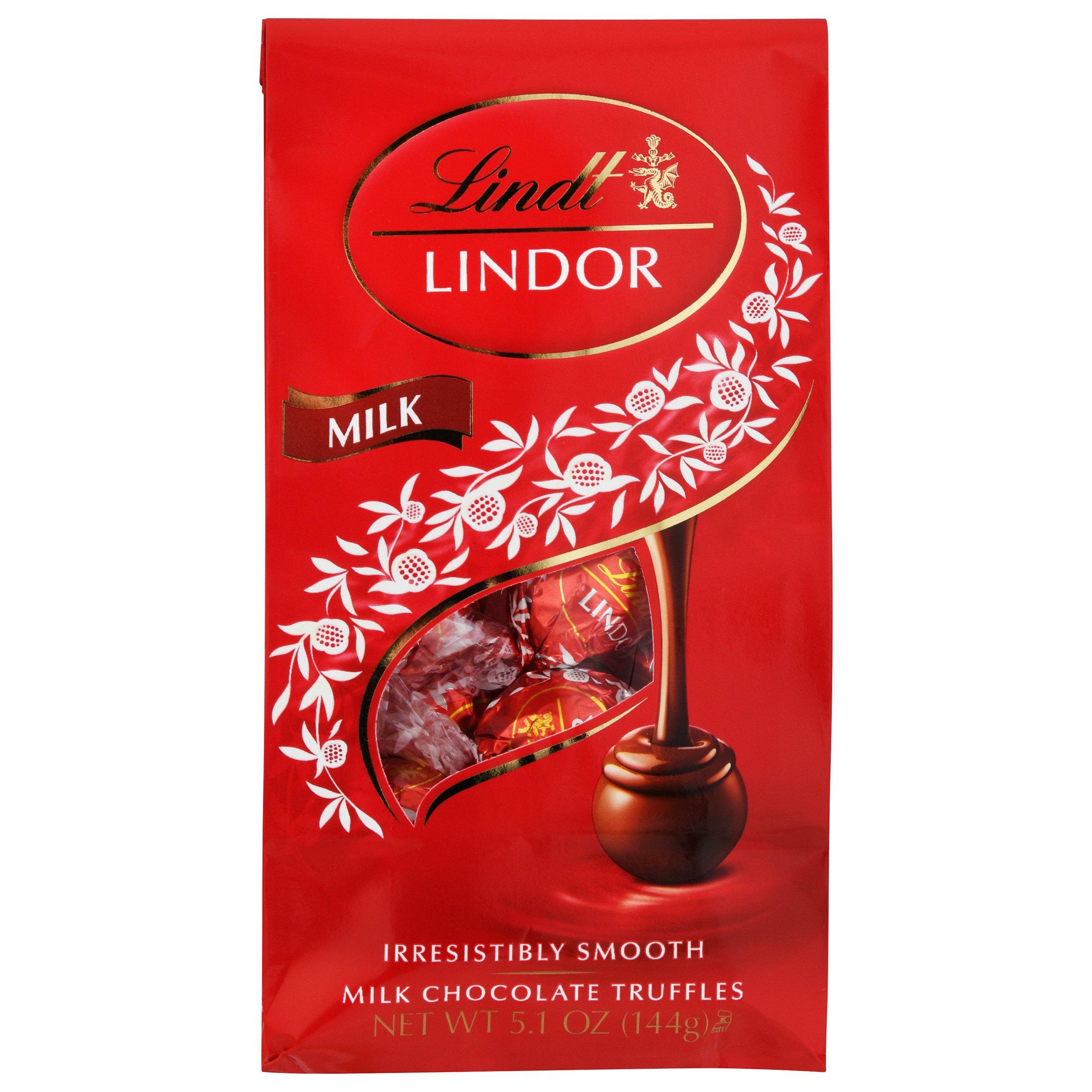 Lindt Lindor Milk Chocolate Truffles ...
