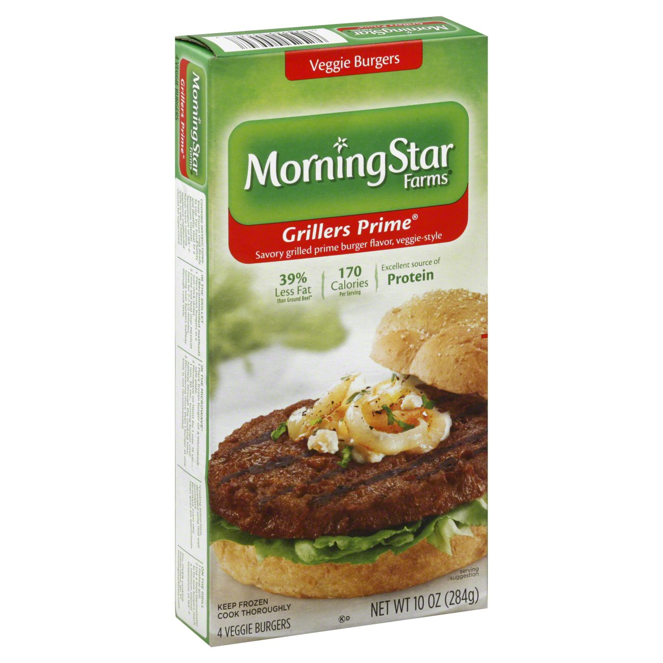 morningstar farms grillers prime veggie burgers shop meat