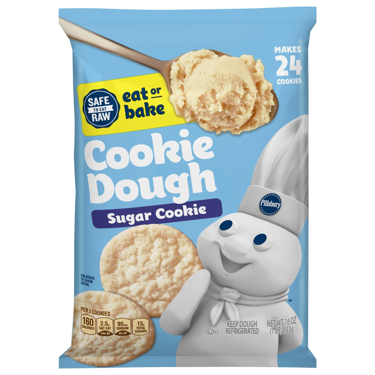pillsbury ready to bake! sugar cookies ‑ shop biscuit & cookie dough