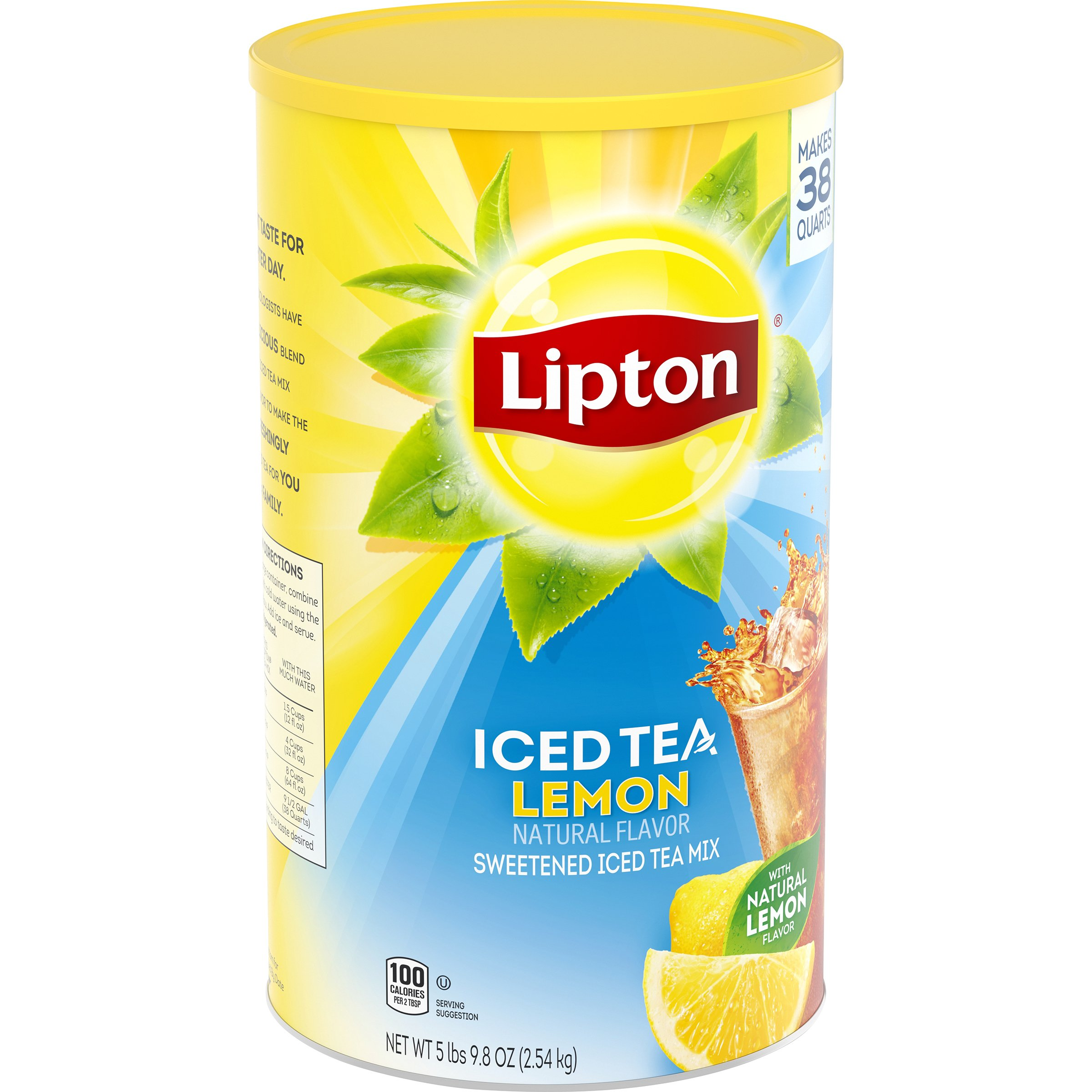 Lipton Lemon Iced Tea Mix Shop Tea At H E B