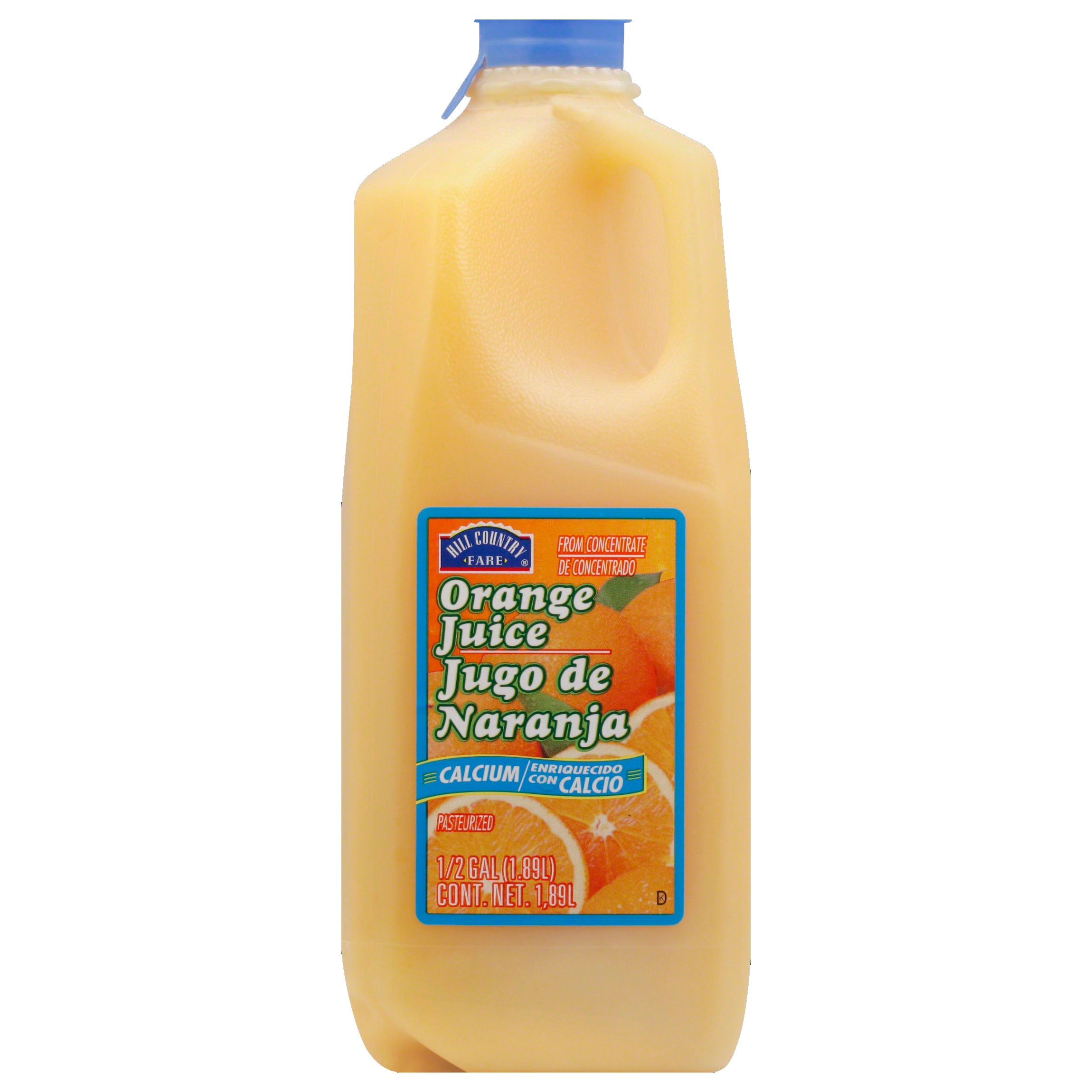 Hill Country Fare Orange Juice With Calcium Shop Juice At H E B