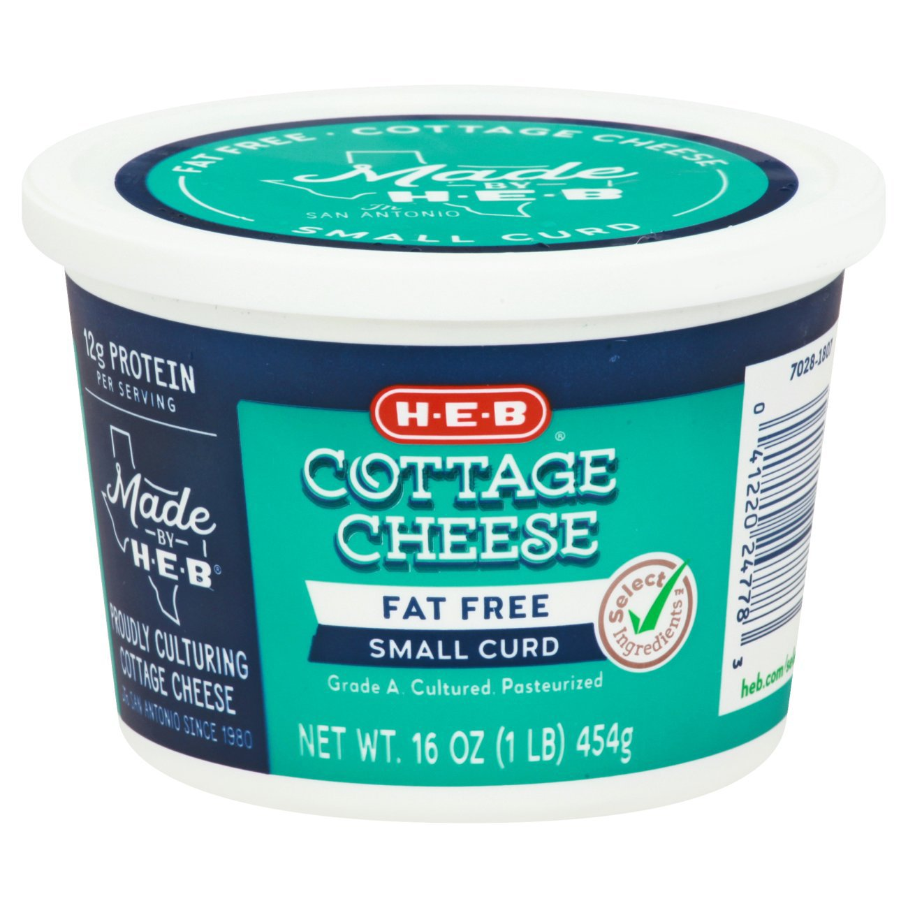 Hu2011Eu2011B Fat Free Cottage Cheese U2011 Shop Cottage Cheese At HEB