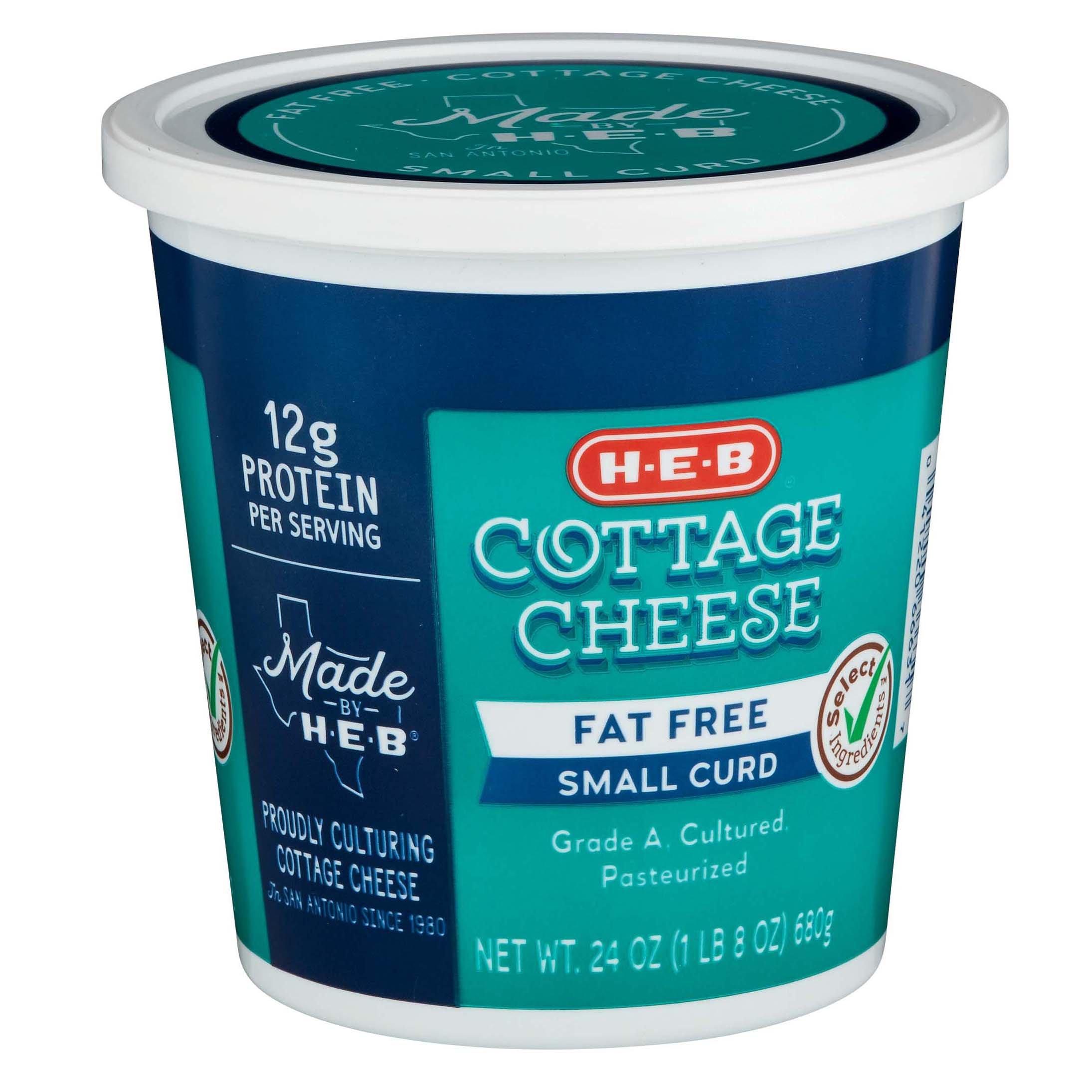 h u2011e u2011b fat free cottage cheese u2011 shop cottage cheese at heb rh heb com fat content in cottage cheese fat percentage in cottage cheese