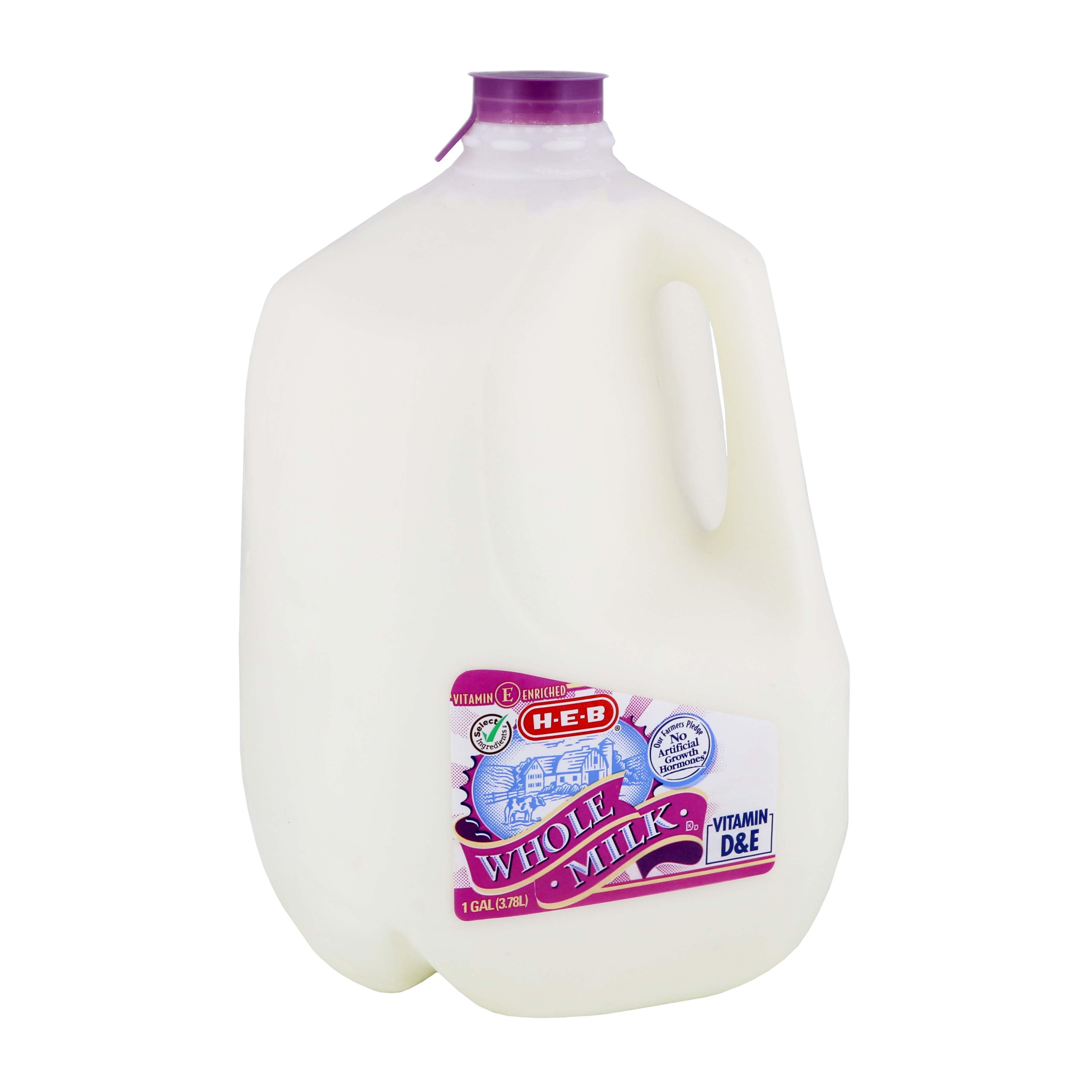 Milk ‑ Shop H‑E‑B Everyday Low Prices