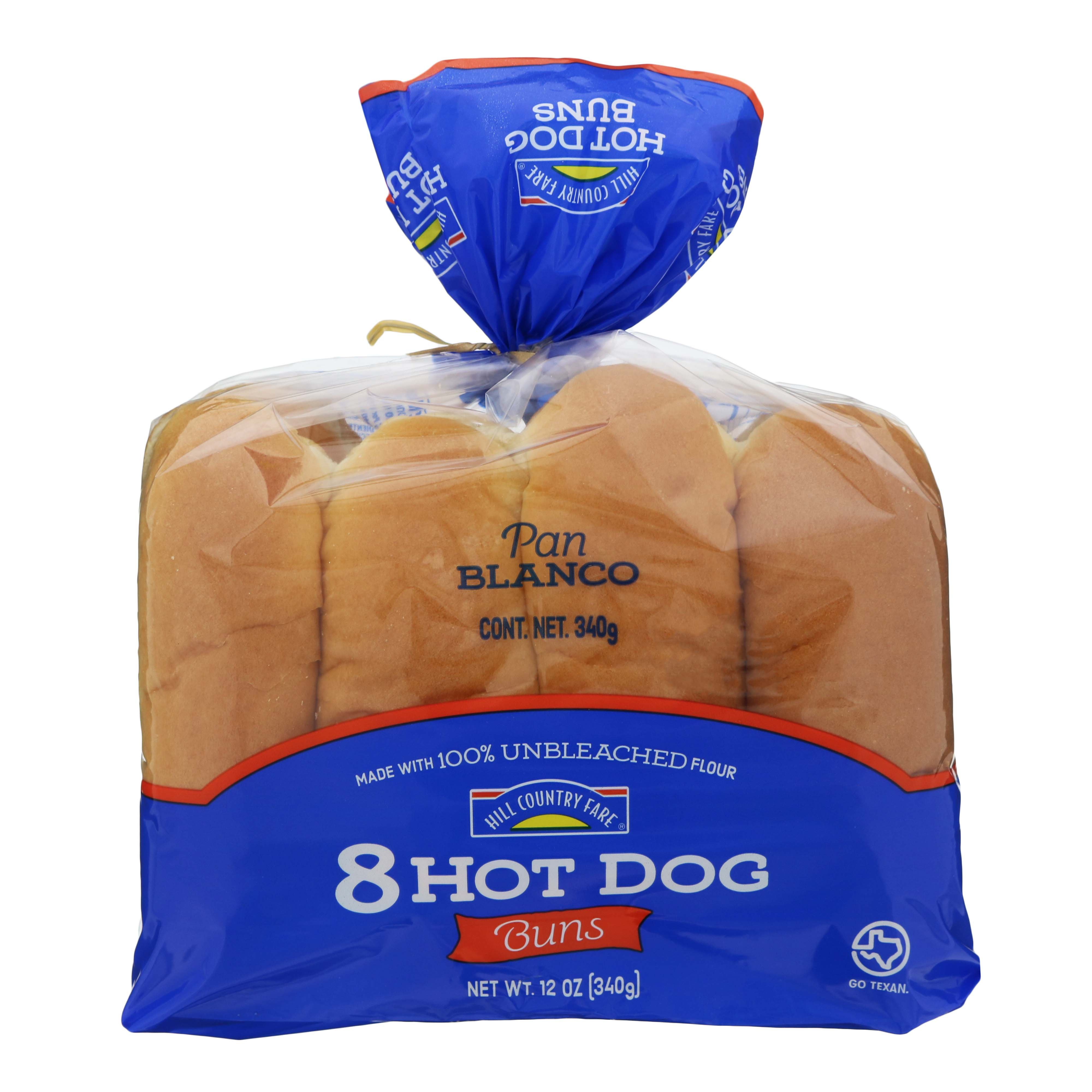 Hill Country Fare Hot Dog Buns Shop Bread At H E B