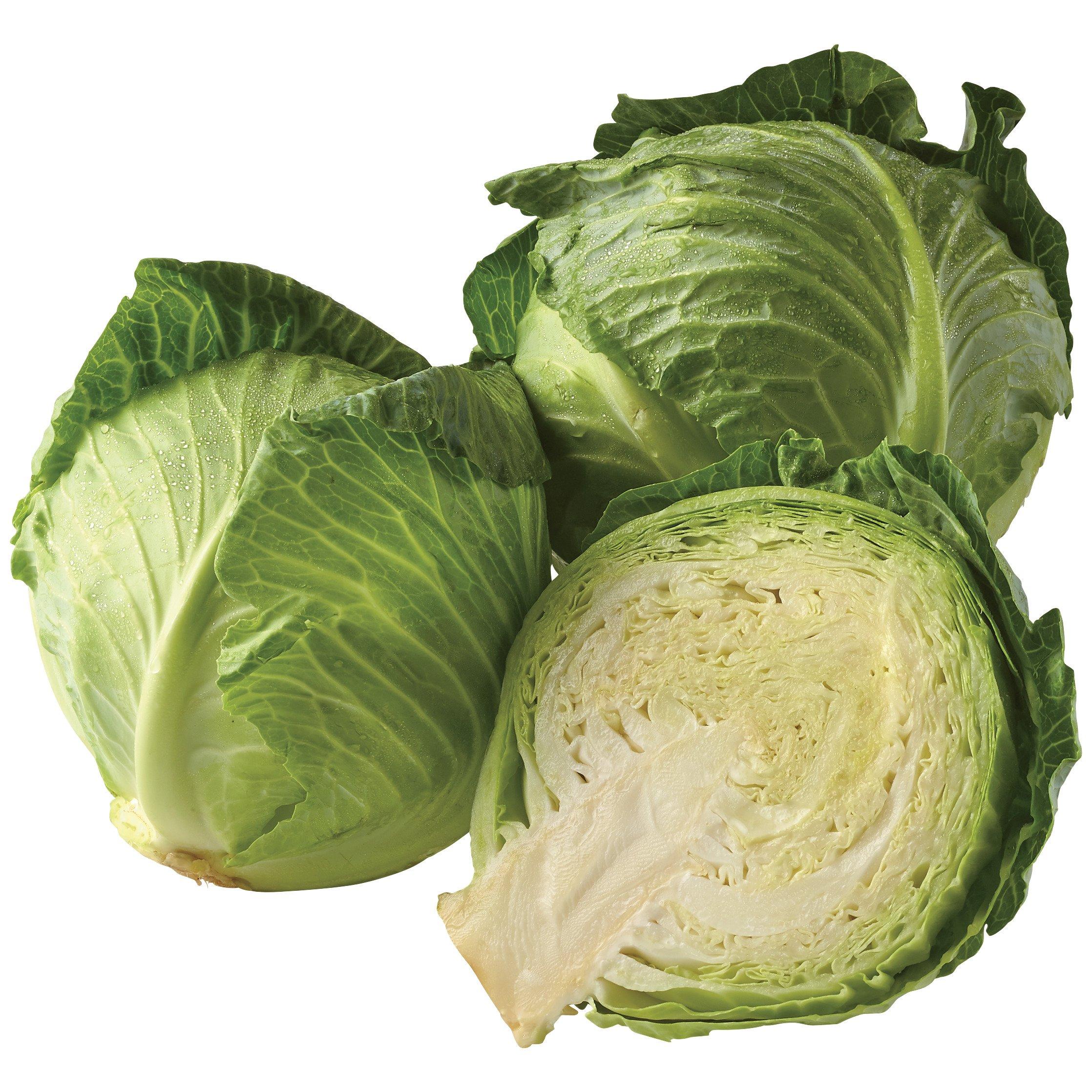 Fresh Green Cabbage - Shop Broccoli, Cauliflower & Cabbage at H-E-B