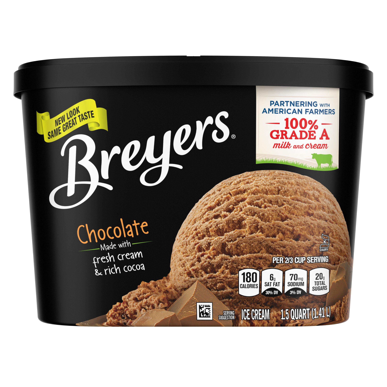 Breyers Chocolate Ice Cream ‑ Shop Ice