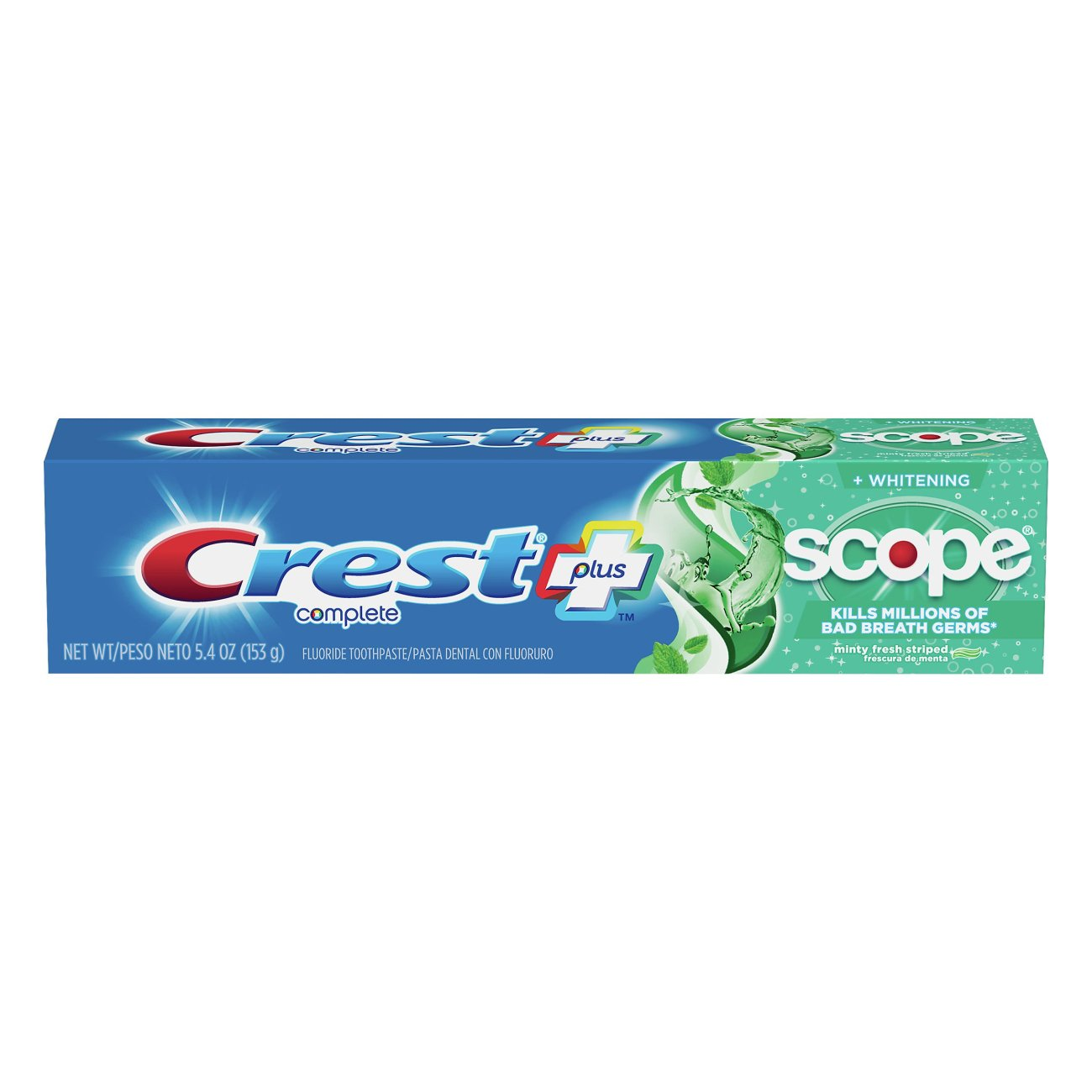 Crest Scope Complete Whitening Minty Fresh Striped Toothpaste