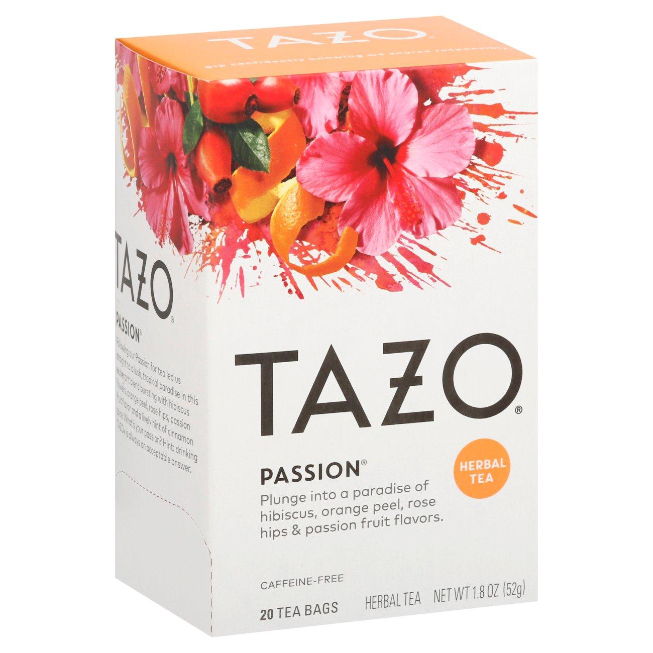 Tazo Passion Herbal Tea Bags - Shop Tea