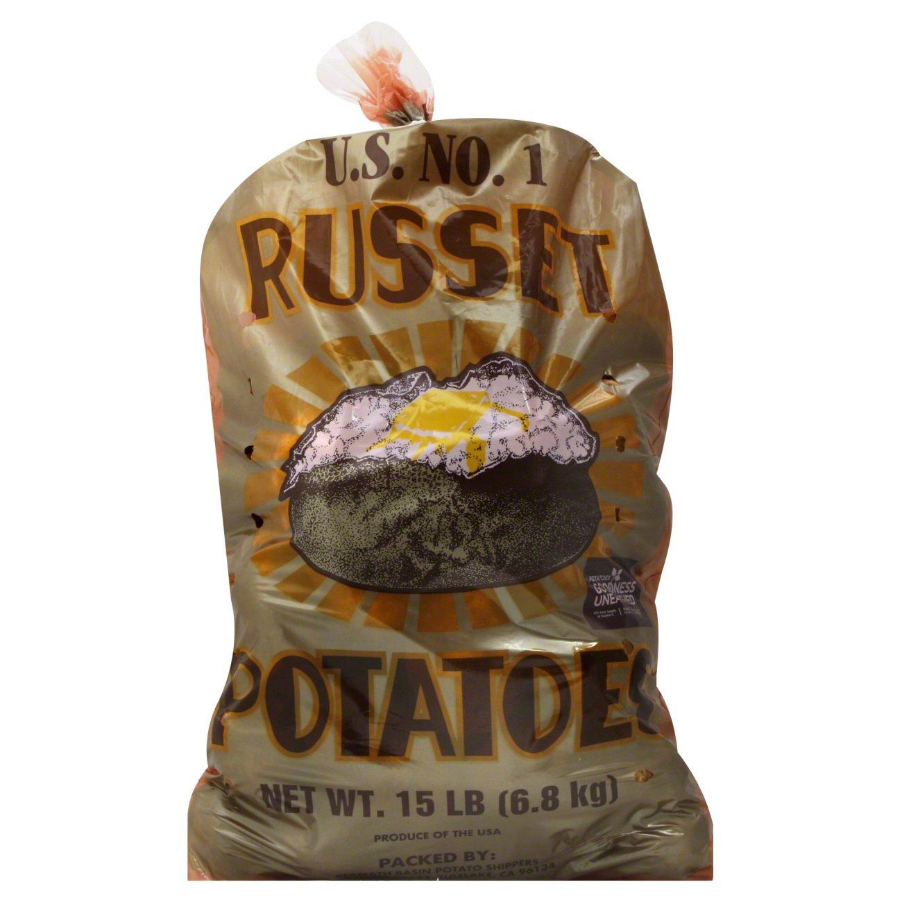 H E B Russet Potatoes Shop At HEB