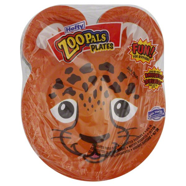 Hefty Zoo Pals 7-3/8 Inch Polypropylene Plates - Shop Disposable Tableware at HEB  sc 1 st  HEB.com & Hefty Zoo Pals 7-3/8 Inch Polypropylene Plates - Shop Disposable ...