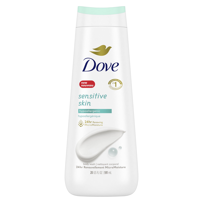 Dove Sensitive Skin Nourishing Body Wash Shop Body Wash At H E B