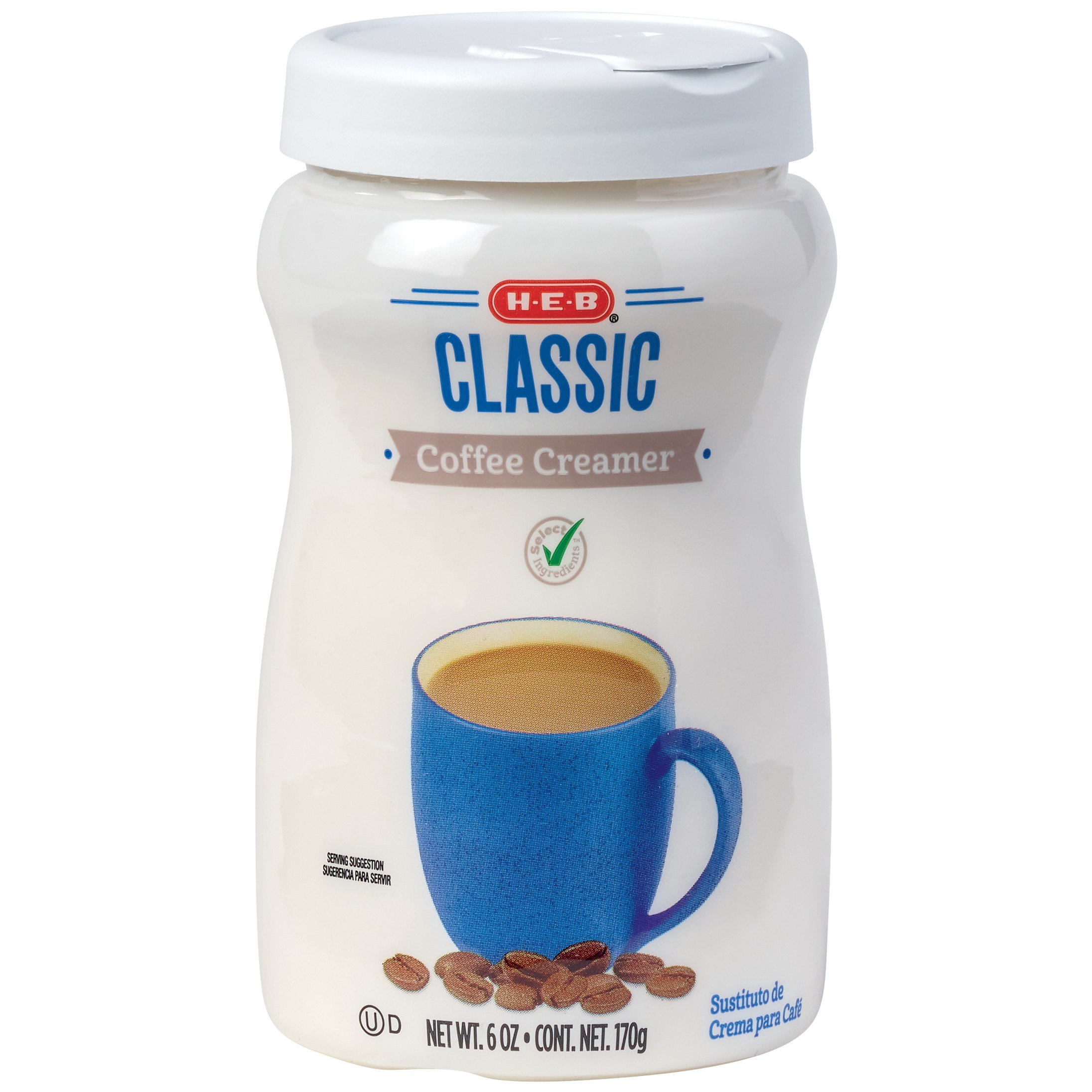 H-E-B Select Ingredients Classic Powdered Coffee Creamer ...