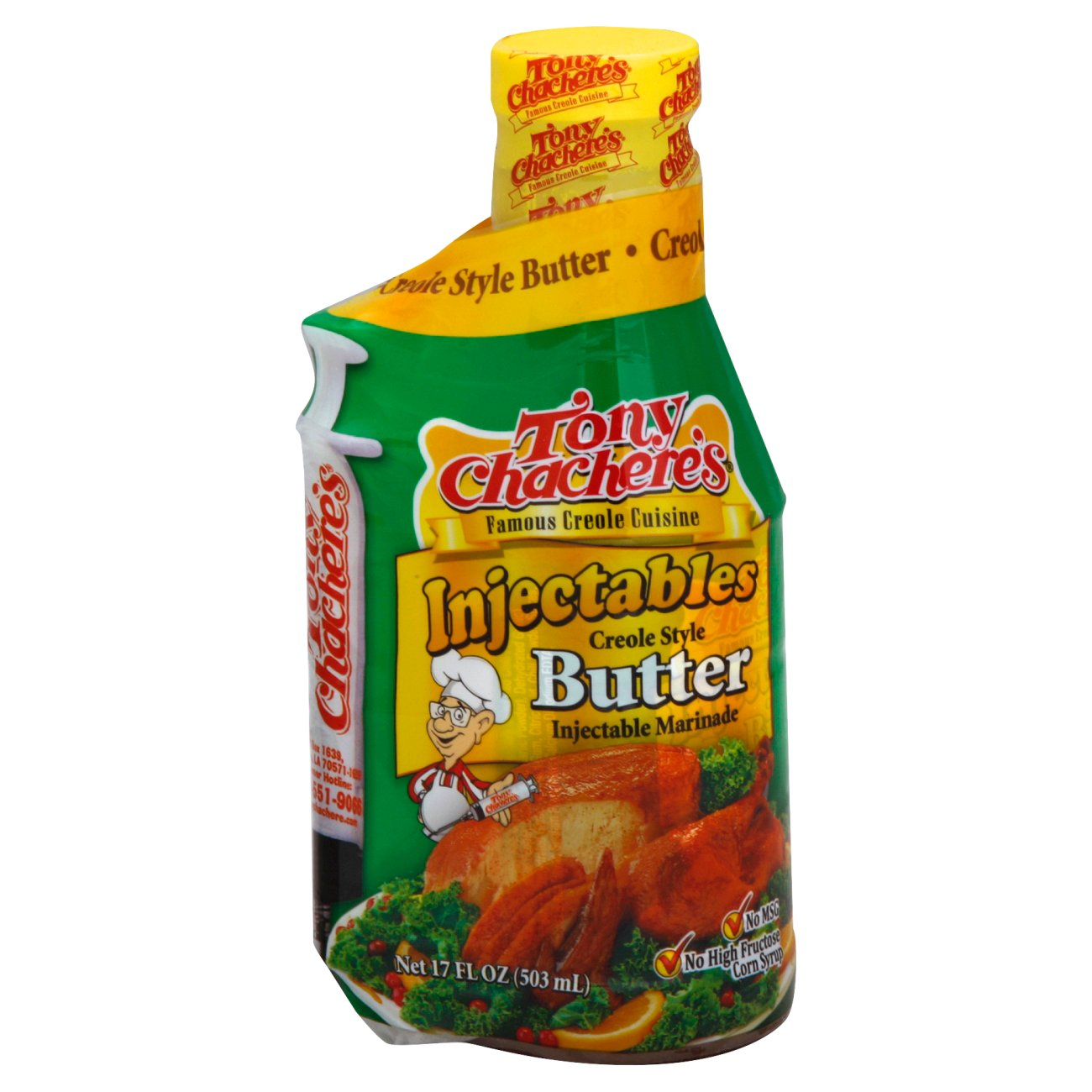 Tony Chachere S Injectables Creole Style Butter Marinade Shop
