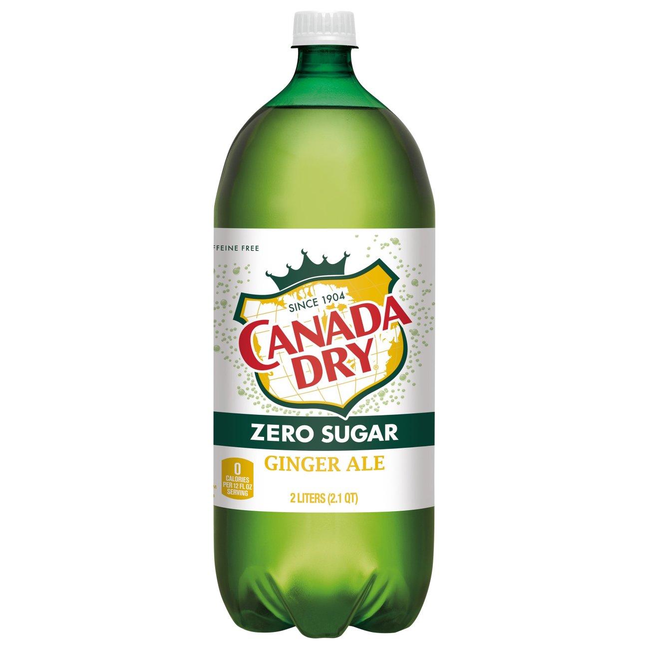 is diet ginger ale caffeine free