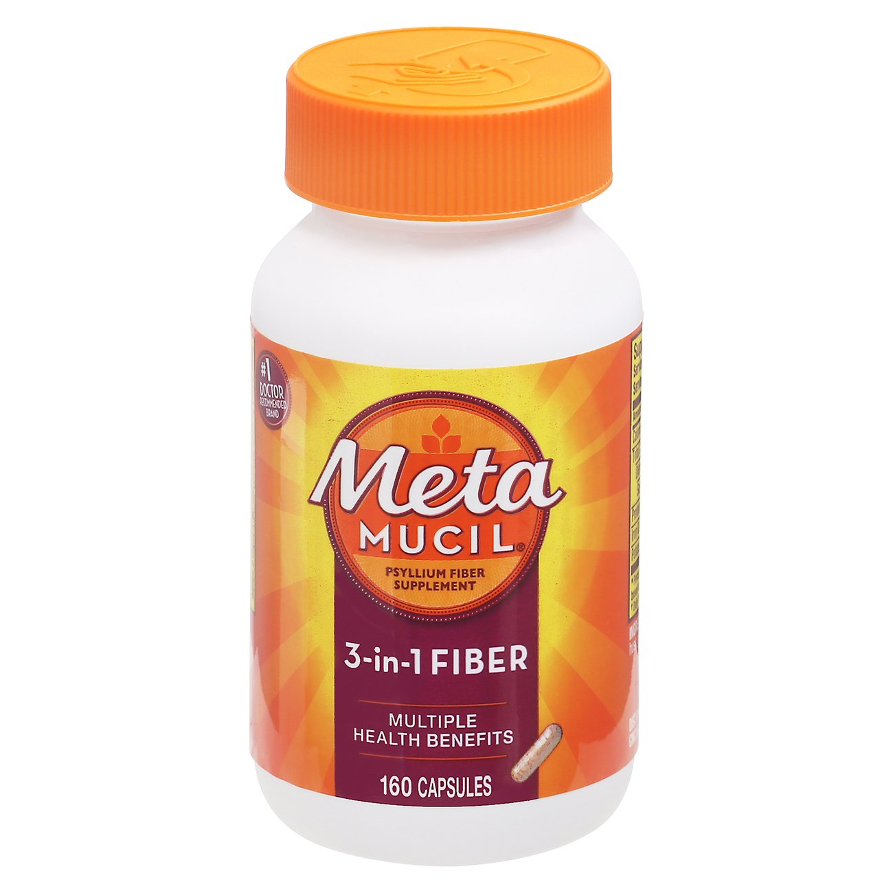 Metamucil 3-in-1 Psyllium Fiber