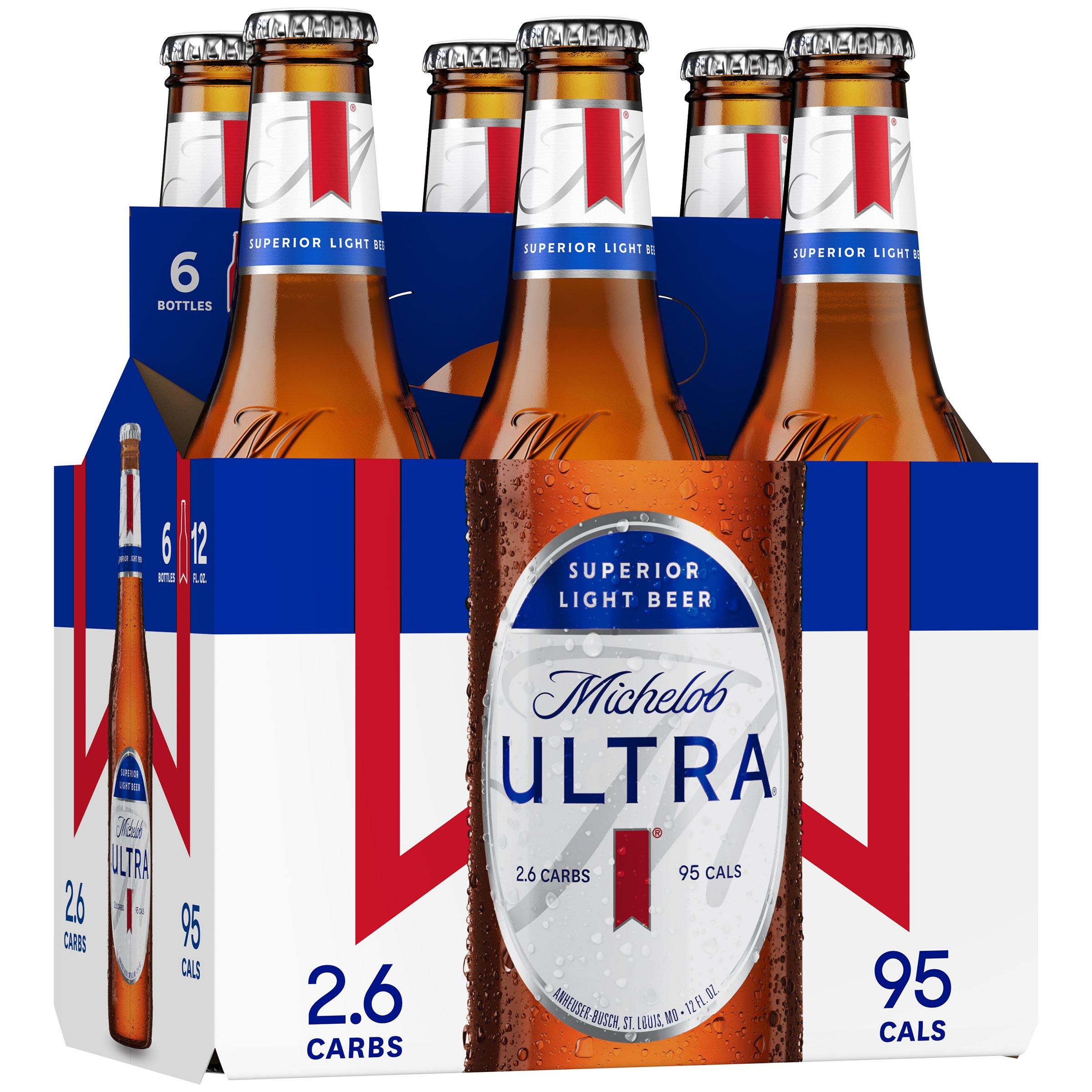 Nice Michelob Ultra Beer 12 Oz Bottles   Shop Beer At HEB Nice Look