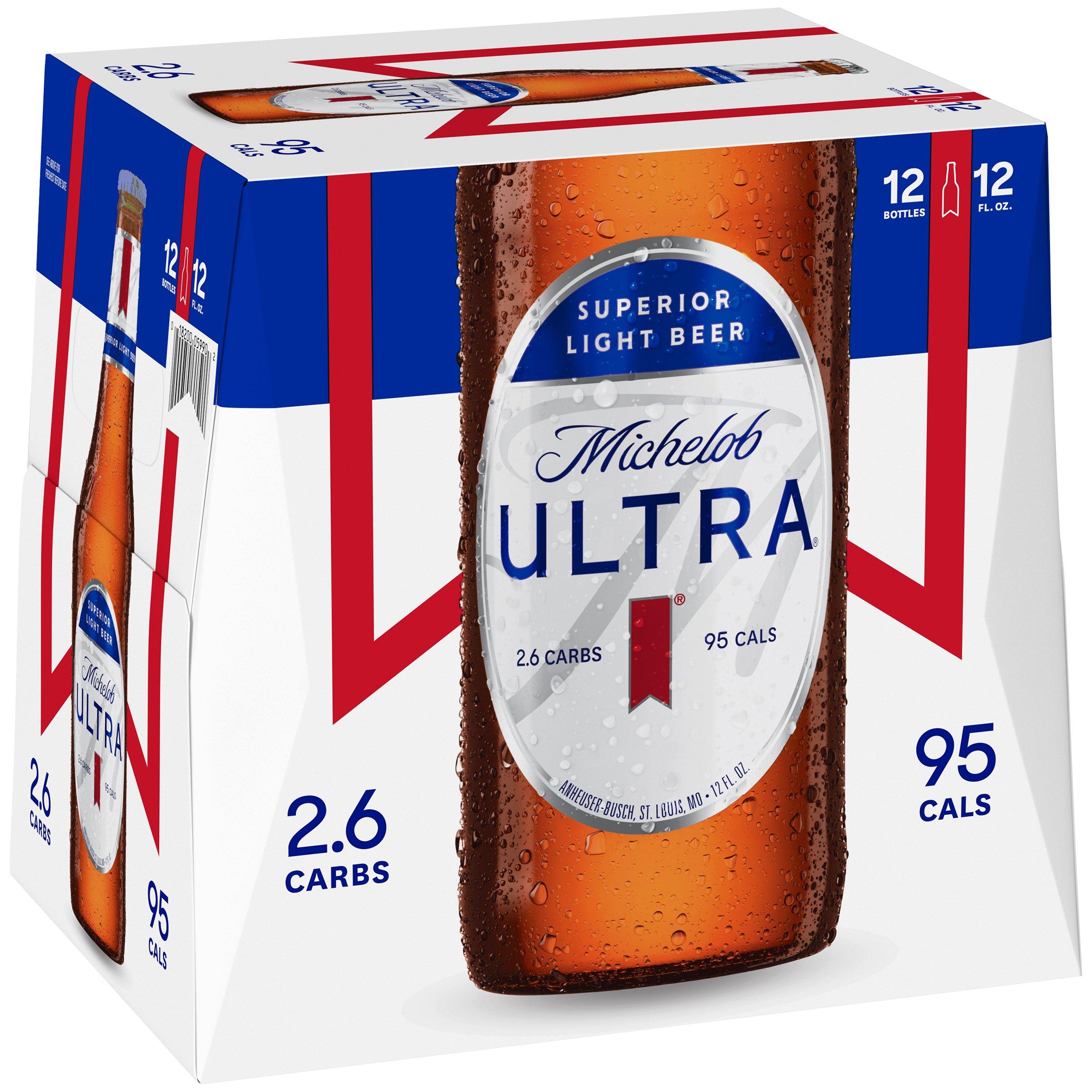 Michelob Ultra Beer 12 Oz Bottles Shop Beer At H E B