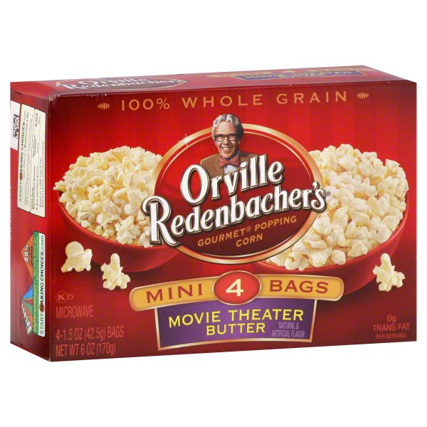 Orville Redenbacher S Mini Bags Movie Theater Butter Gourmet Popping Corn Shop Popcorn At H E B