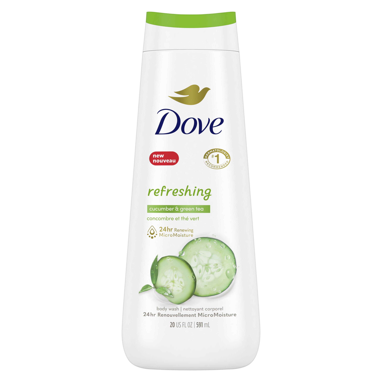 Dove Refreshing Cucumber Green Tea Body Wash Shop Body Wash At H E B