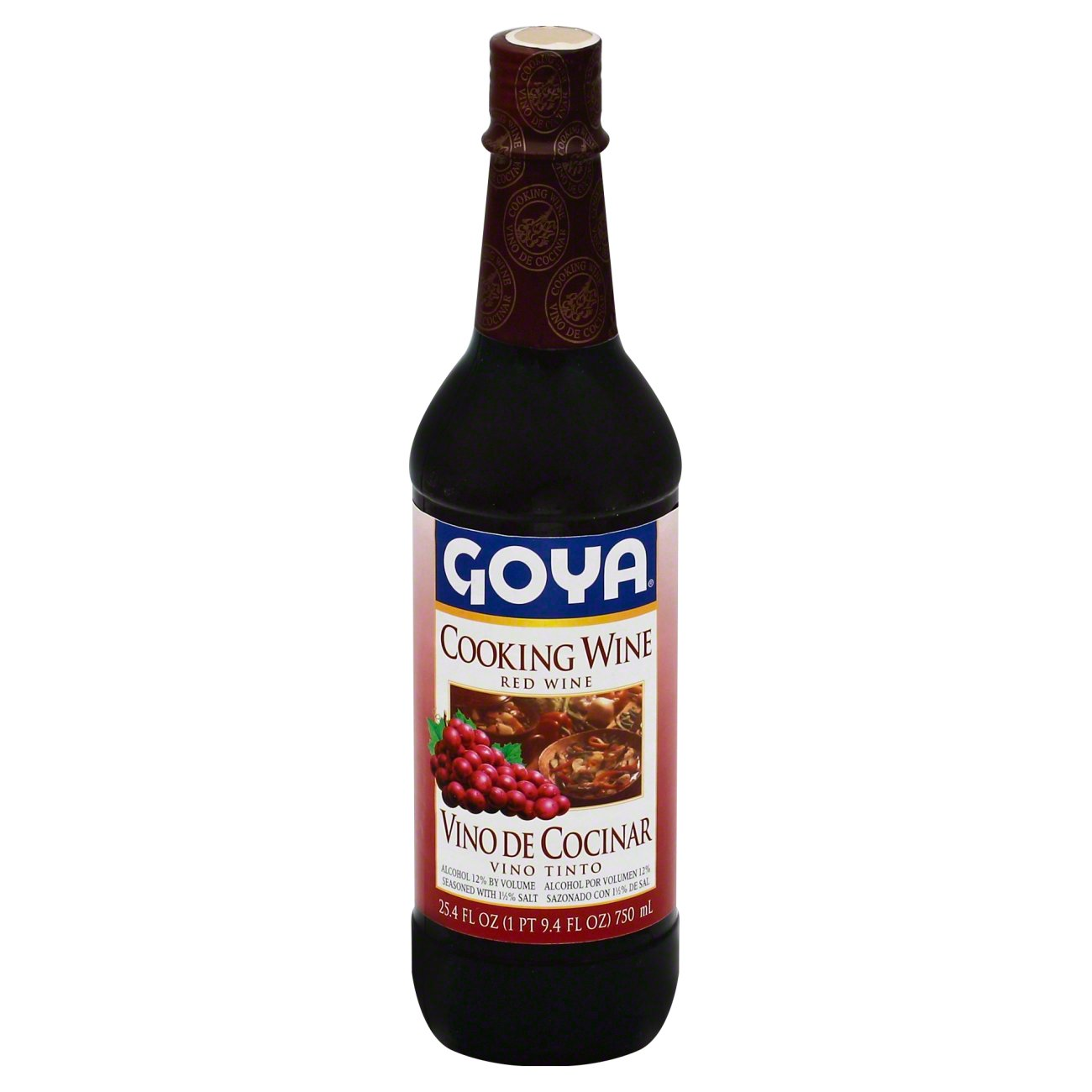 Goya Red Cooking Wine - Shop Vinegar & Cooking Wine at H-E-B