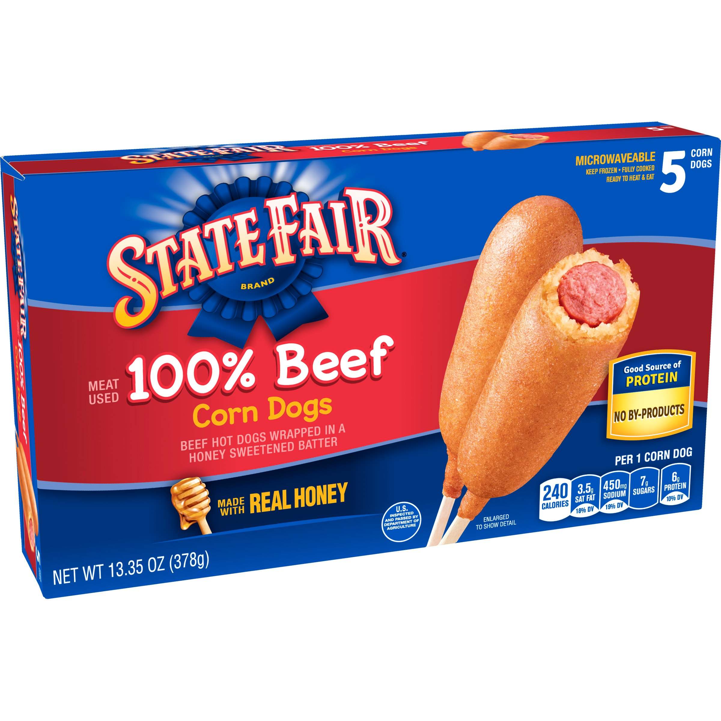 State Fair Beef Corn Dogs Shop Corndogs At Heb