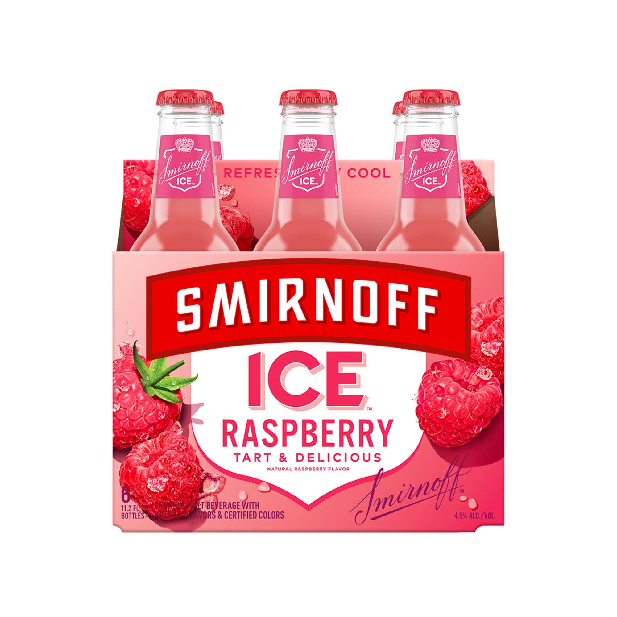 Smirnoff Ice - Cranberry Lime Splash- 11.2oz Bottle - 6