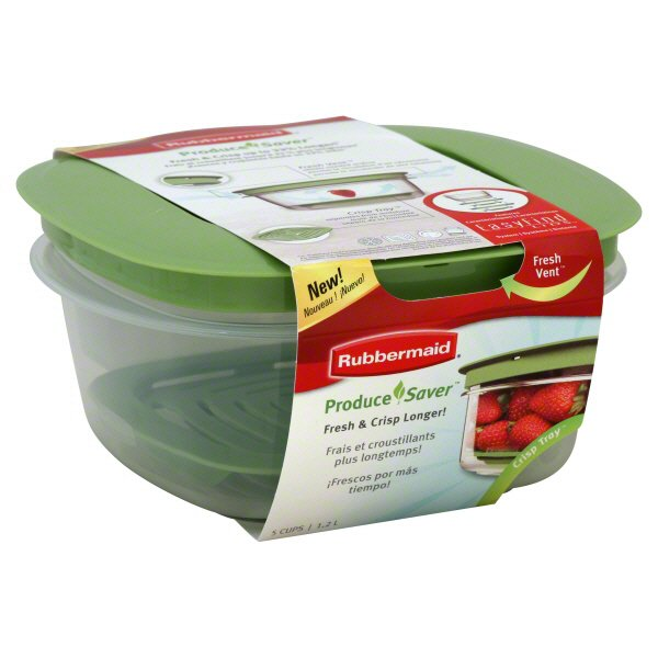 Rubbermaid Produce Saver Easy Find Lids Food Storage Container