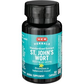 H‑E‑B St. John\'s Wort 300 mg Capsules ‑ Shop Herbal Supplements at HEB
