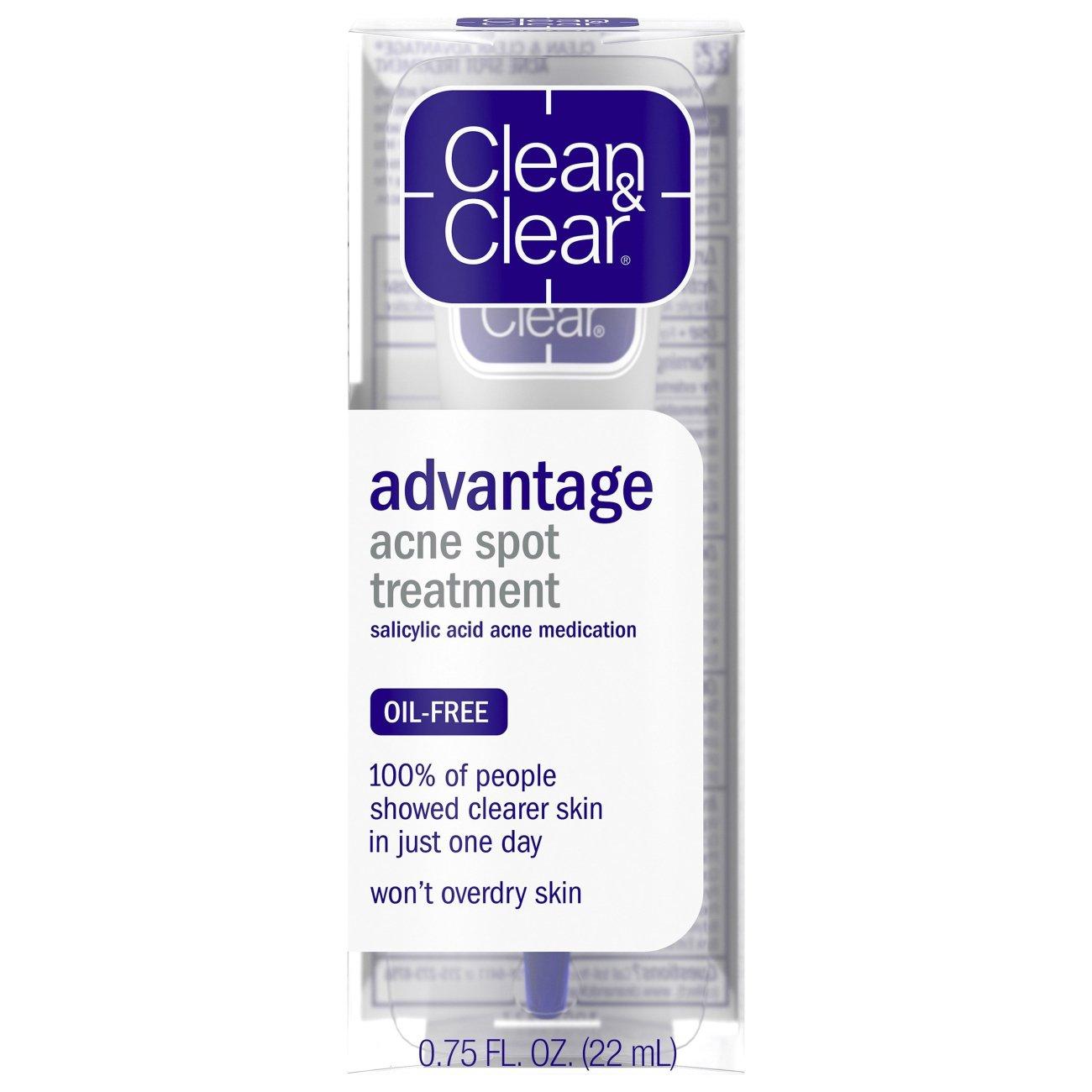 Clean Clear Advantage Acne Spot Treatment Shop Facial Masks