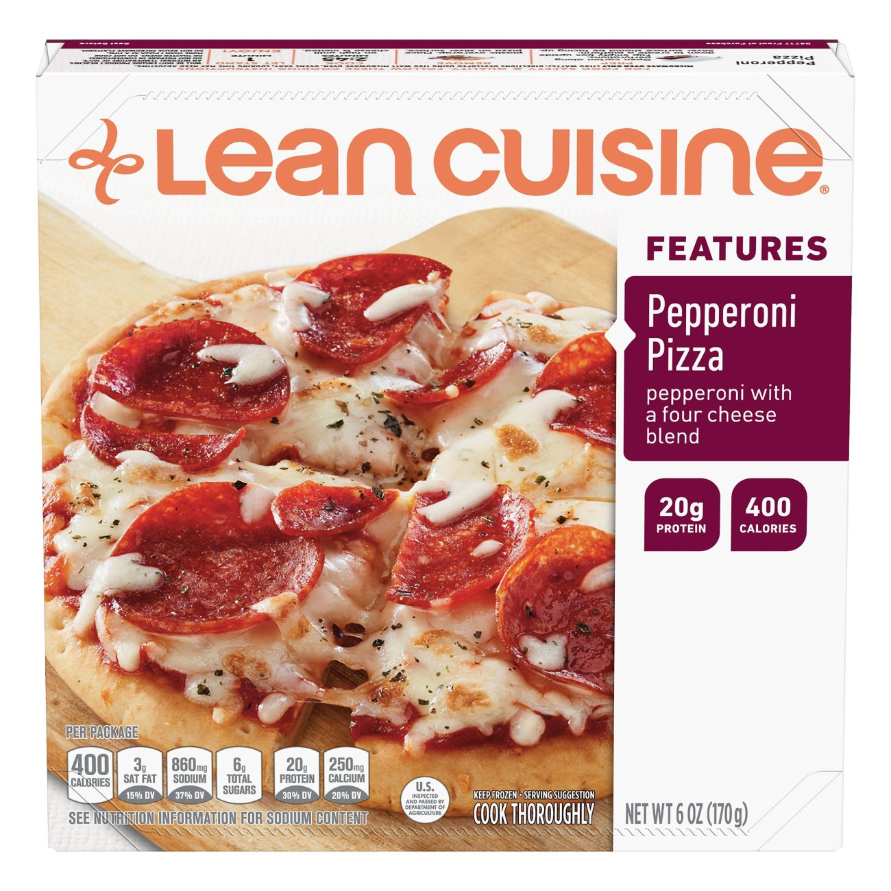Lean cuisine pizza nutrition facts nutrition ftempo for Are lean cuisine pizzas healthy