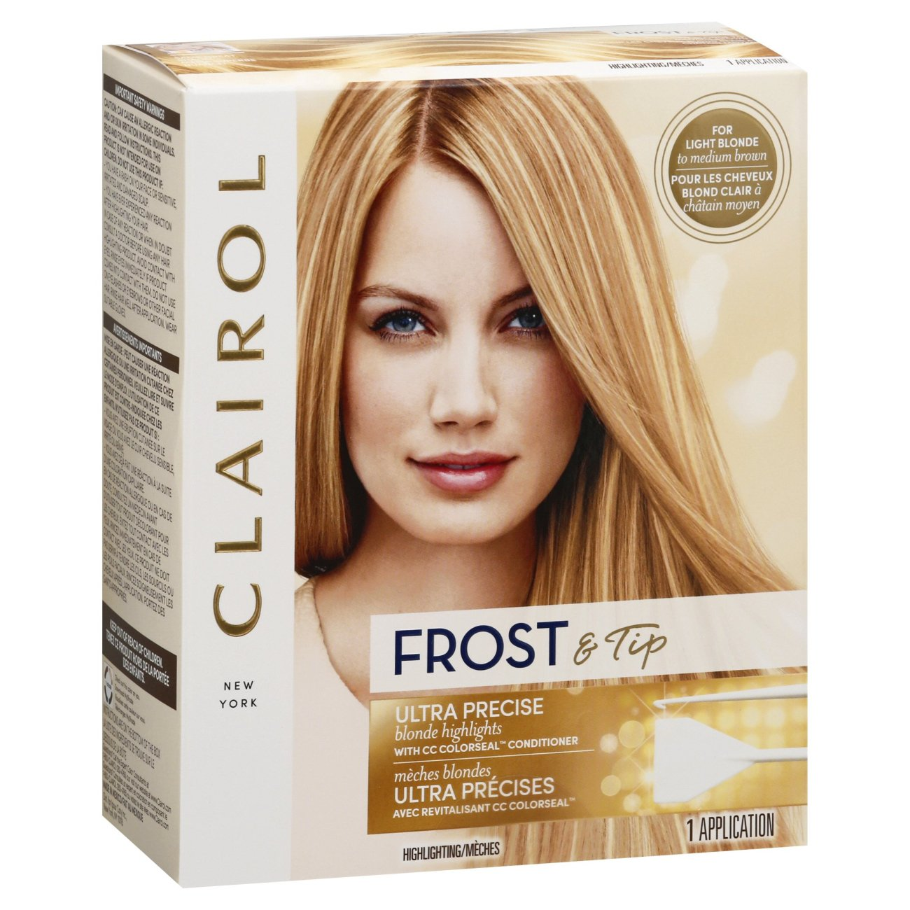 Clairol Nice N Easy Frost Tip Maximum Blonde Highlights Shop