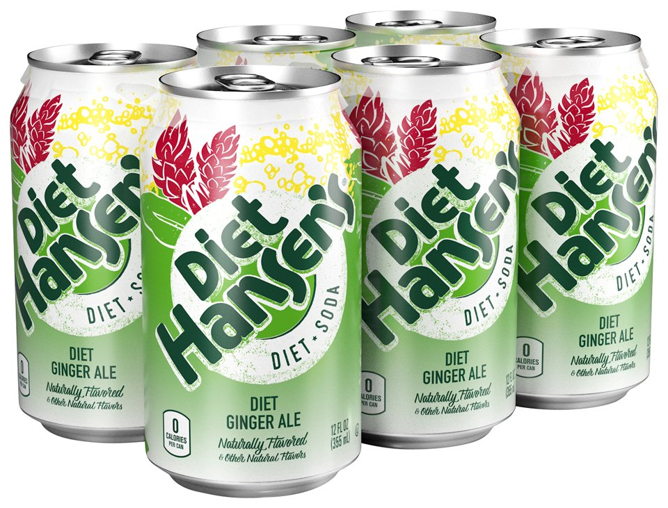 is hans diet ginger ale good for you