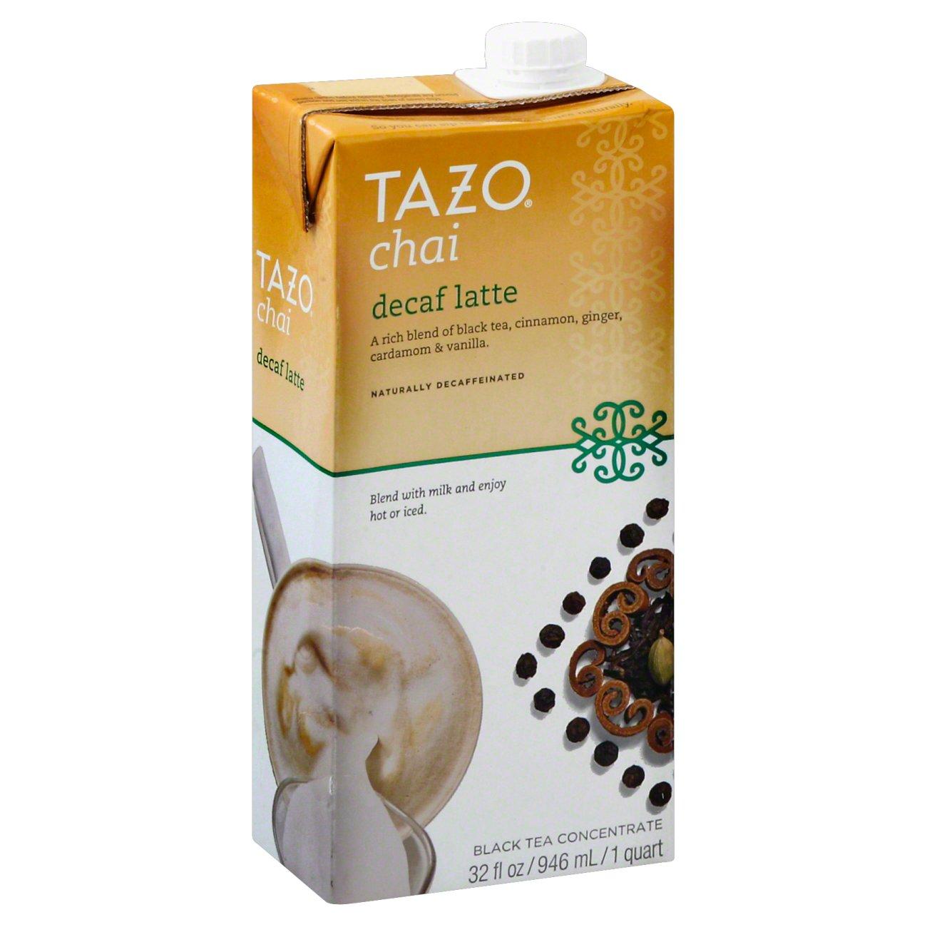 Tazo Decaf Chai Latte Black Tea