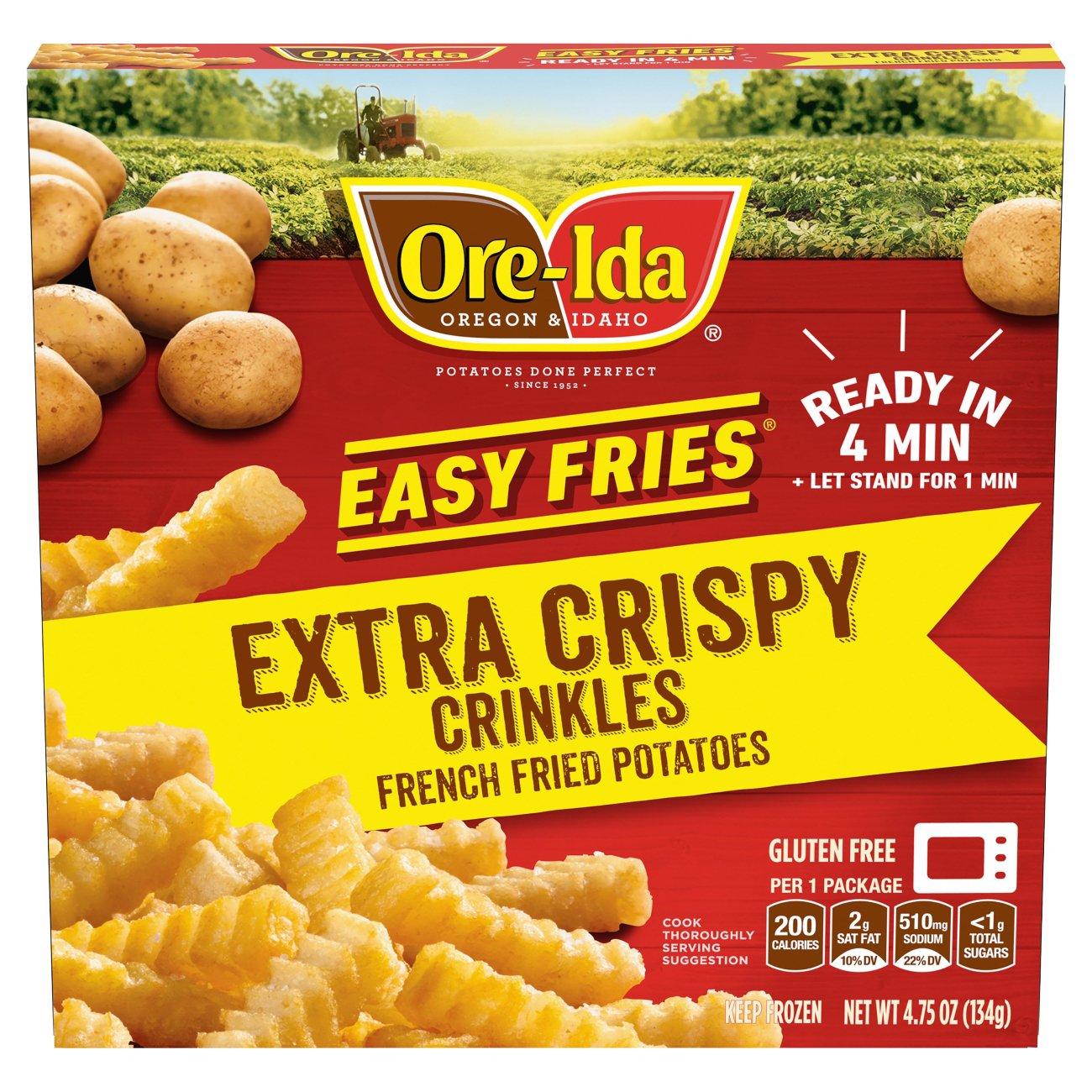 Ore Ida Easy Fries Extra Crispy Golden