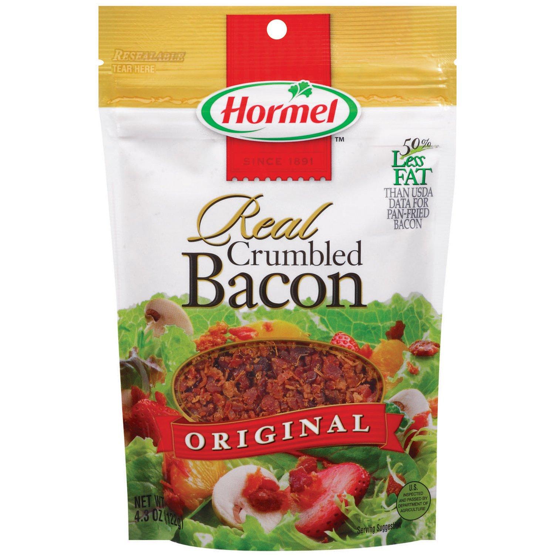 Hormel Original Real Crumbled Bacon Shop Salad Toppings At H E B
