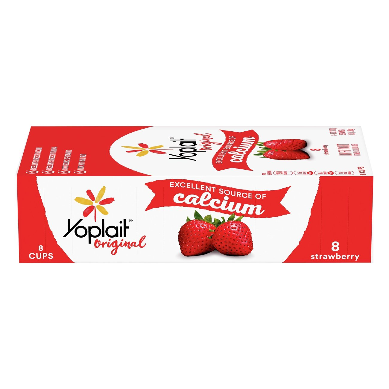 Low‑Fat Strawberry Yogurt ‑ Shop