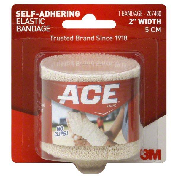 Ace 2 Inch Width Self Adhering Elastic Bandage Shop Sleeves