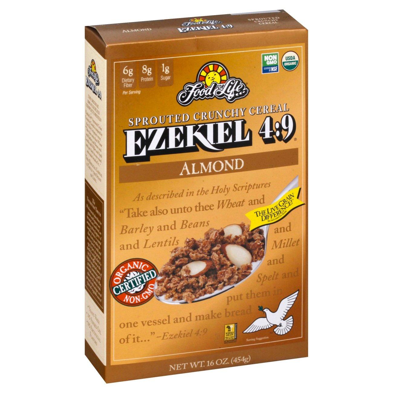 Food For Life Ezekiel 4:9 Almond Cereal
